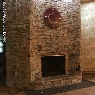 custom made stone fireplacce