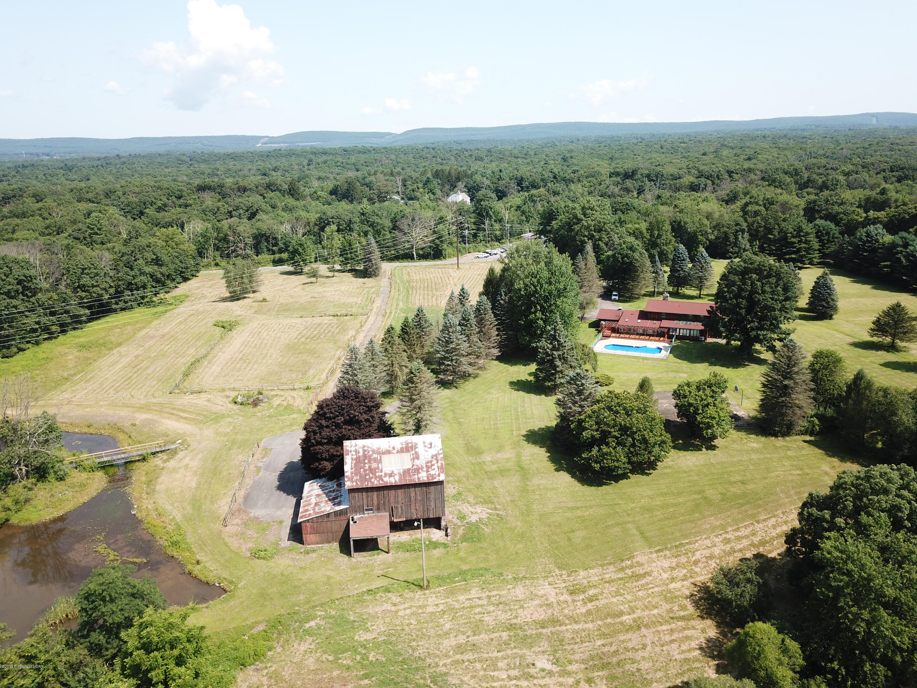 Aerial View of Entire Property