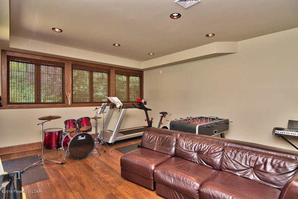 Gaming or Exercise Area