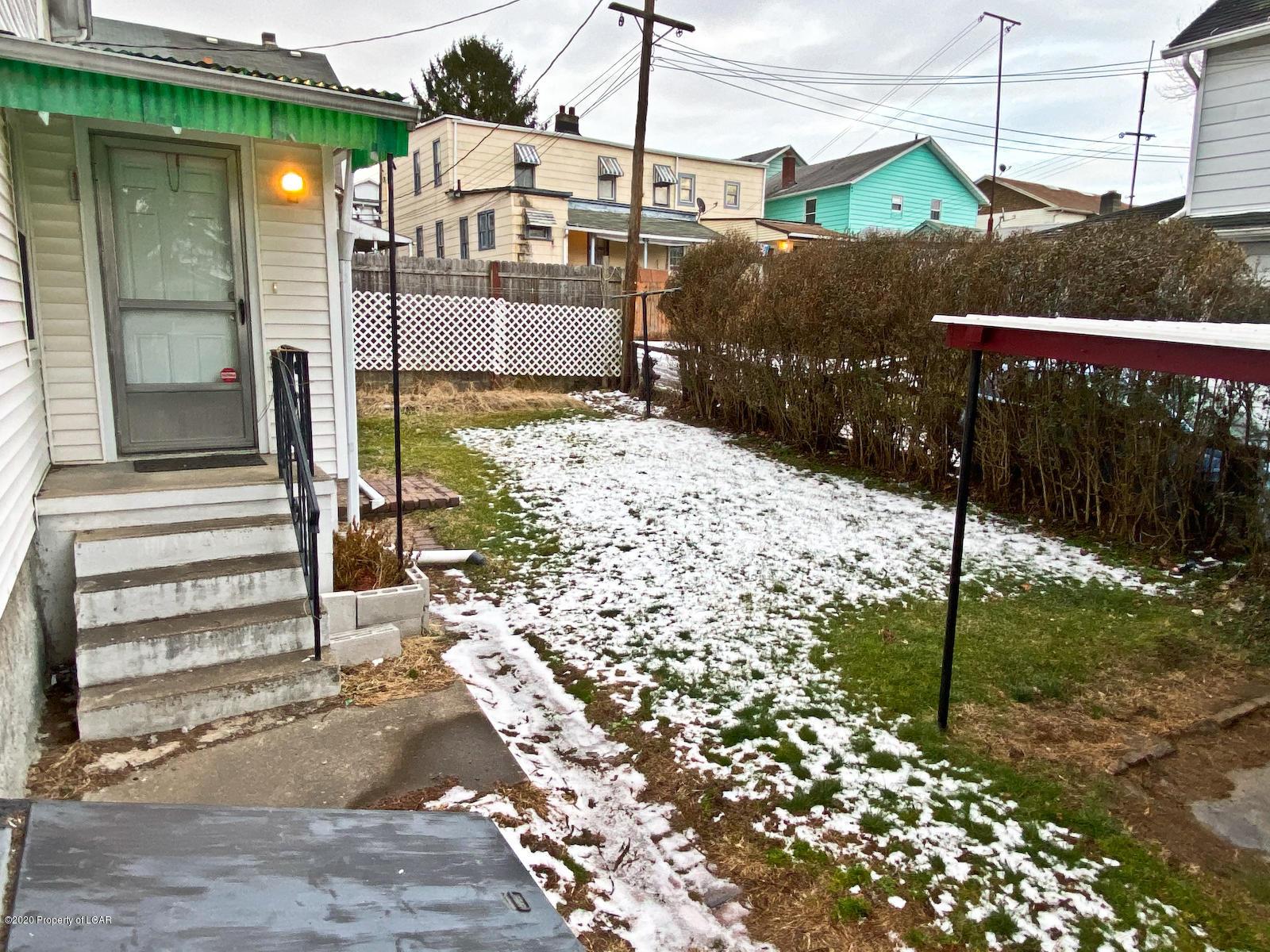Side Entrance/Yard