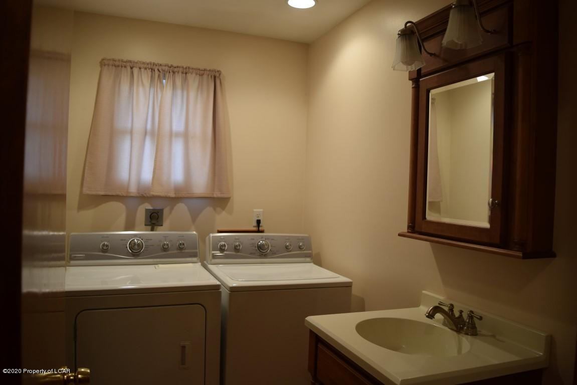 Combo Laundry & Bath with shower