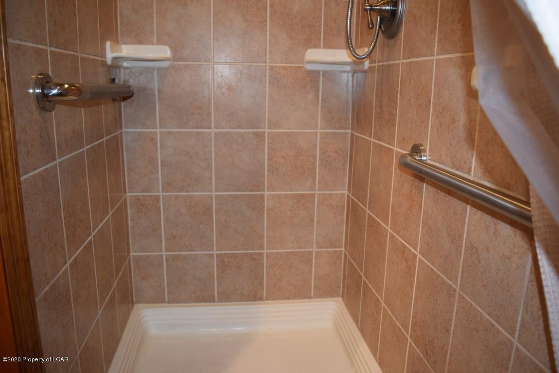 Shower in Combo Bath Laundry