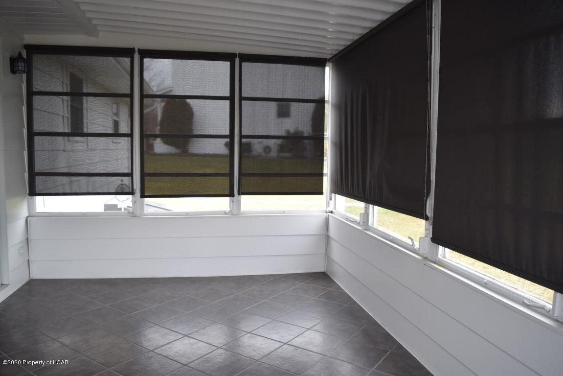 Screen Porch with tile floor