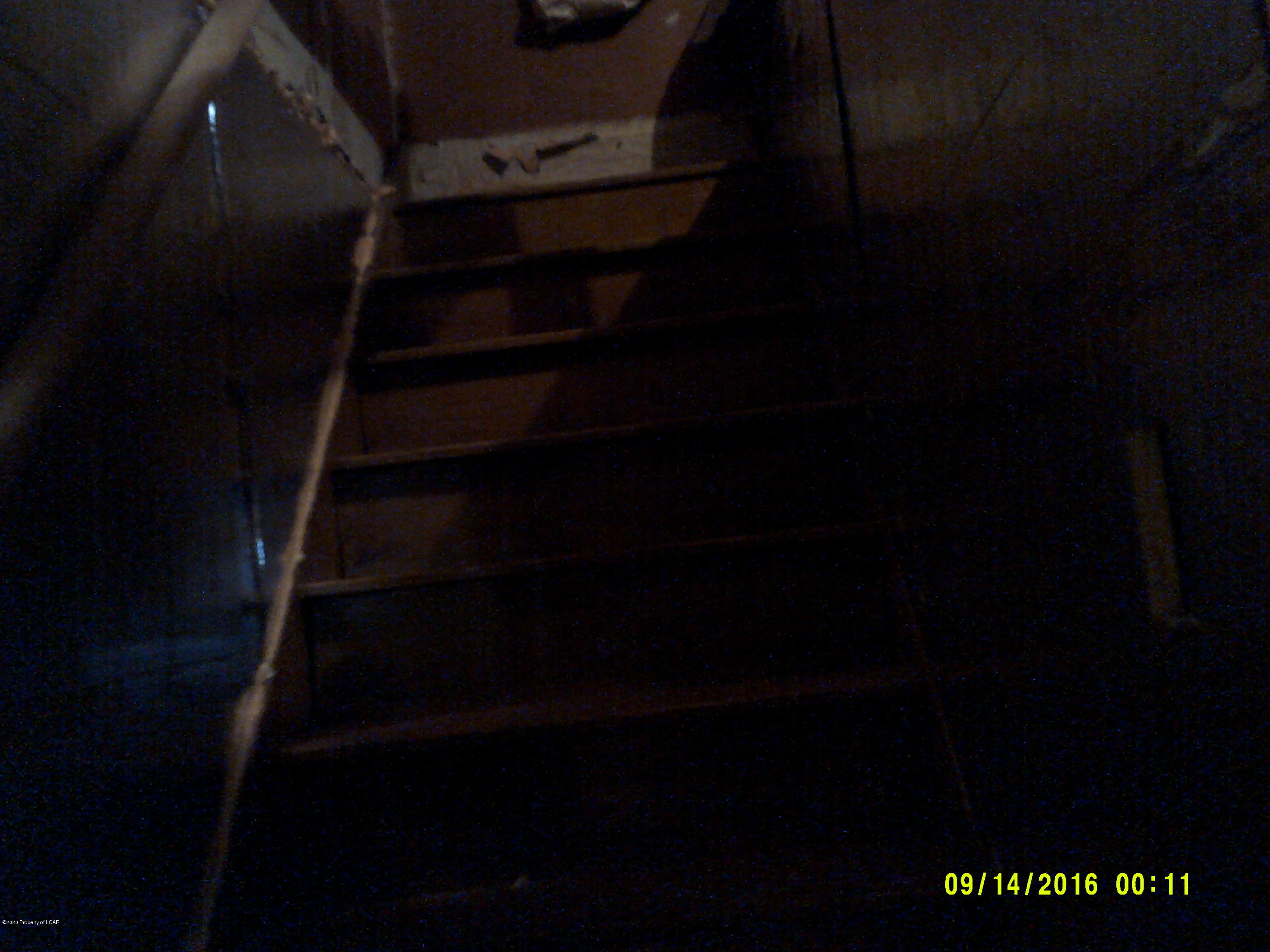 Steps to attic