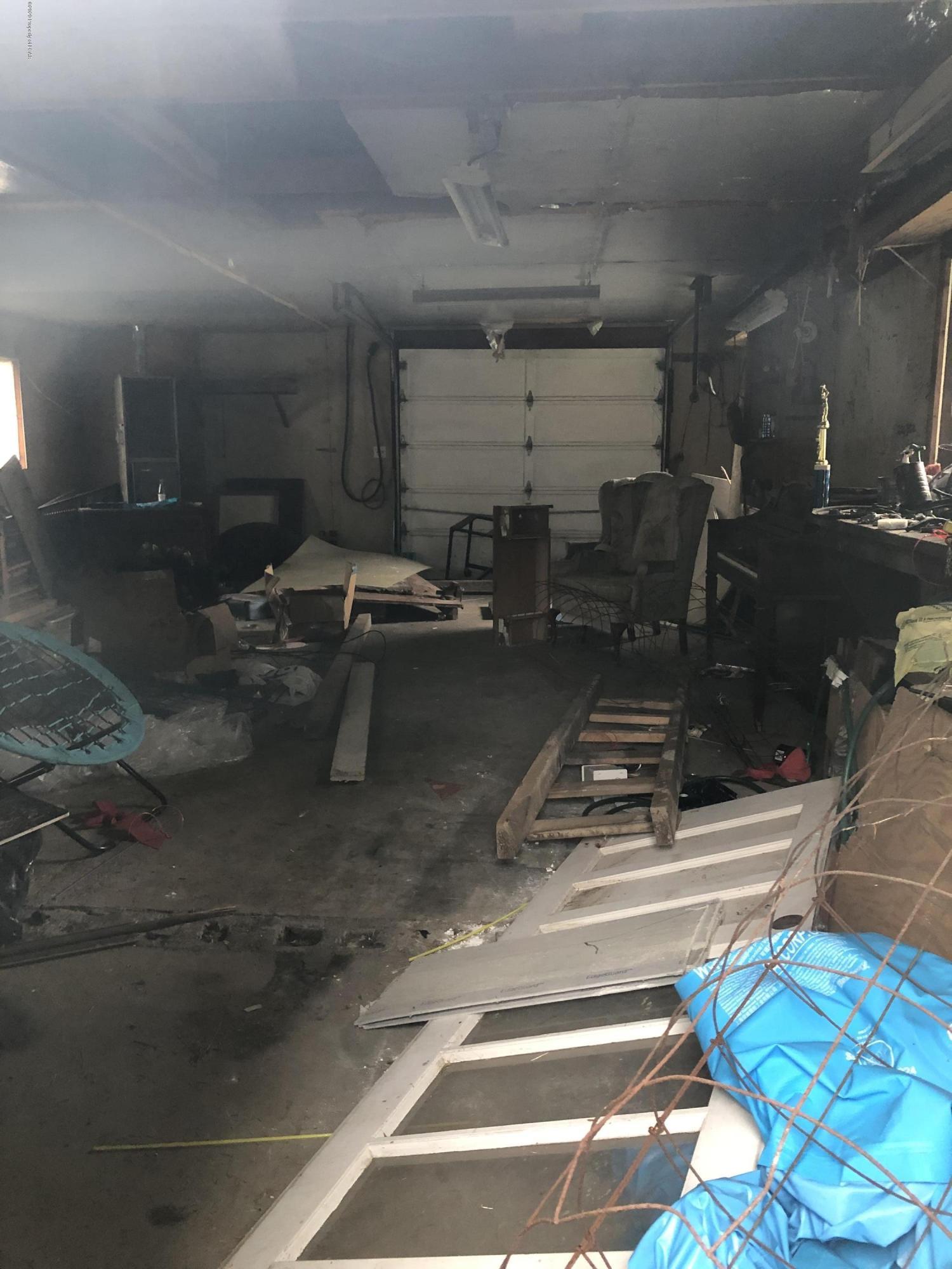 inside back garage