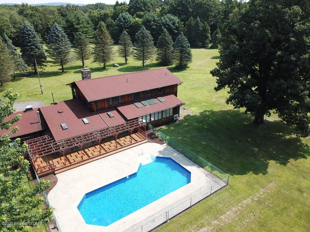 Aerial View of Back of House