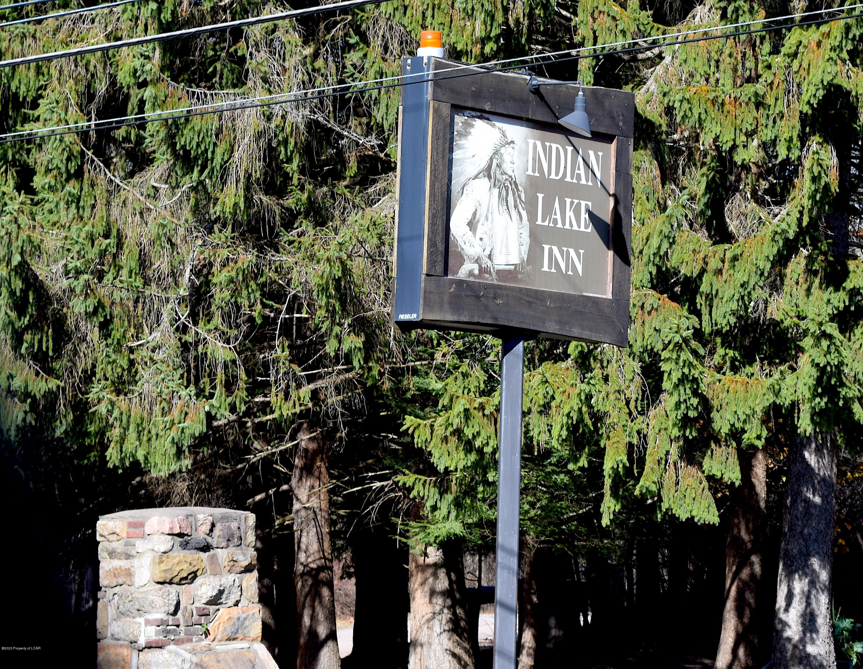 Indian Lake community sign