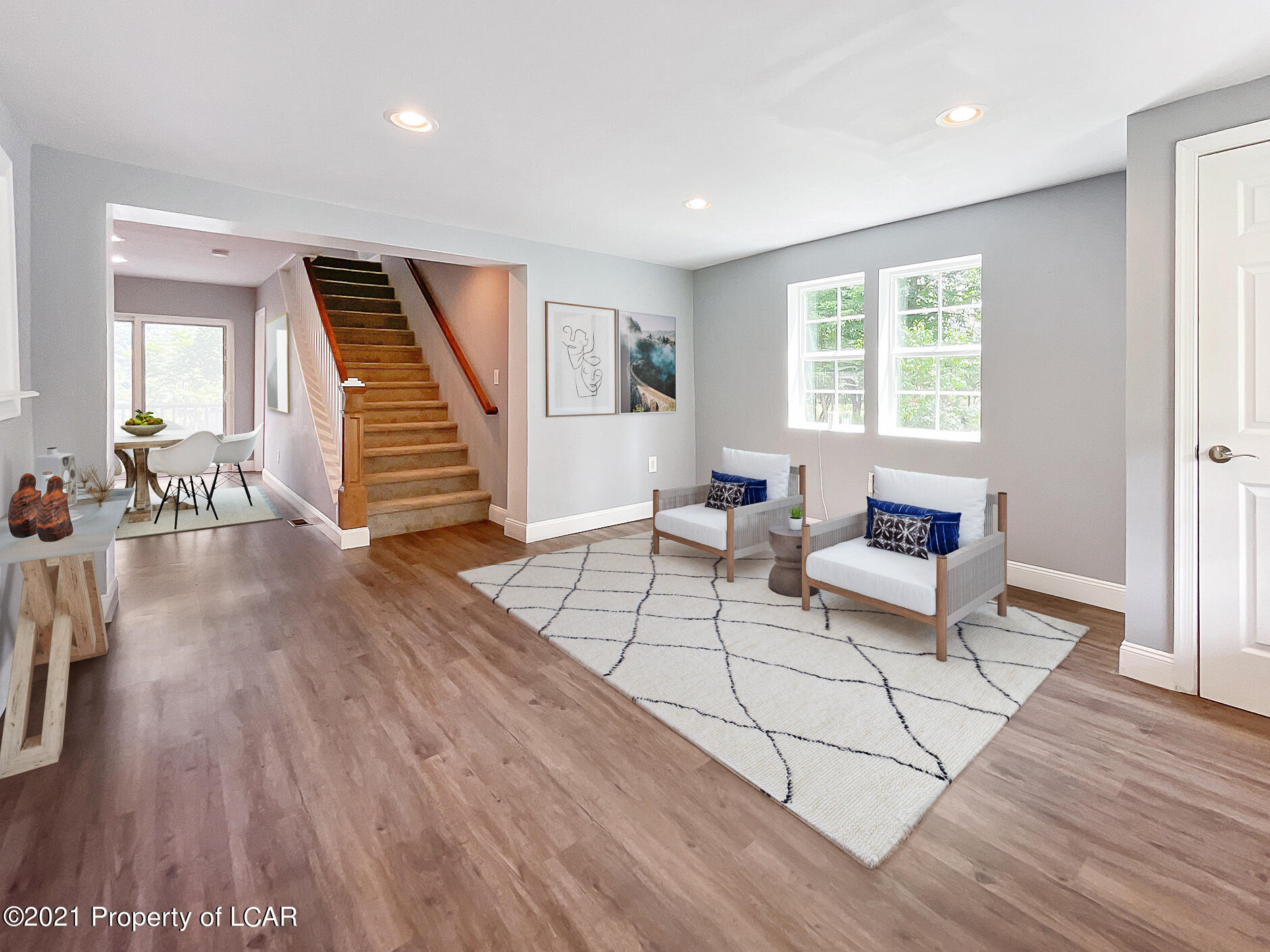 Entry/Dining Area (Staged)
