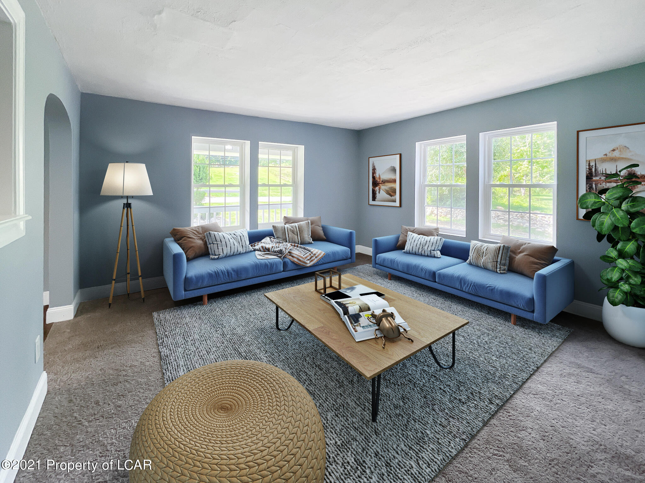 Living Room (Staged)