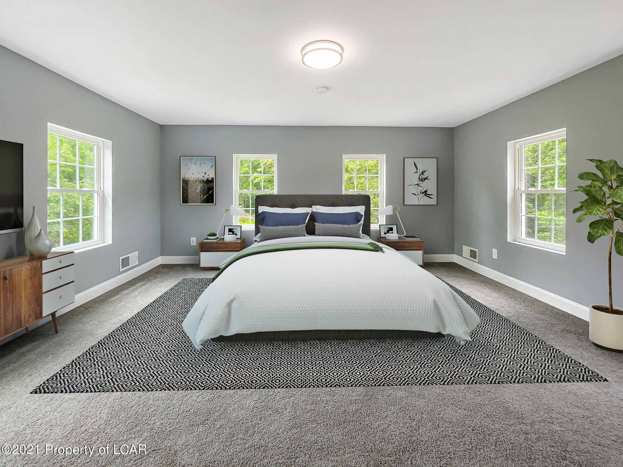Primary Bedroom (Stged)2nd Floor