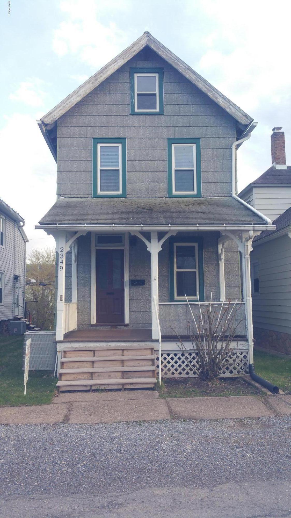 2349 GRAND STREET,Williamsport,PA 17701,3 Bedrooms Bedrooms,1.5 BathroomsBathrooms,Residential,GRAND,WB-73899