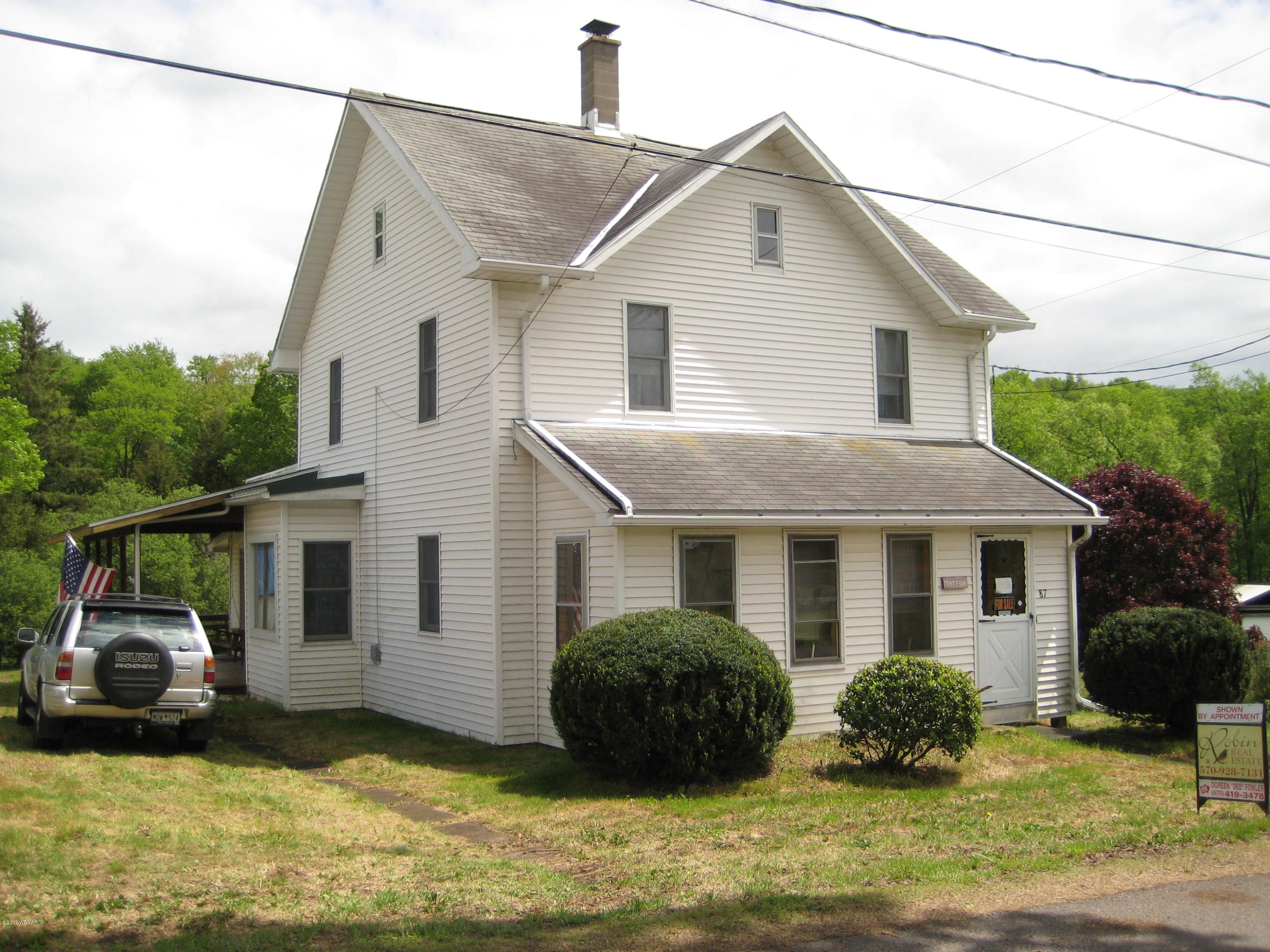87 JACKSON STREET,Mildred,PA 18632,4 Bedrooms Bedrooms,1 BathroomBathrooms,Cabin/vacation home,JACKSON,WB-80938