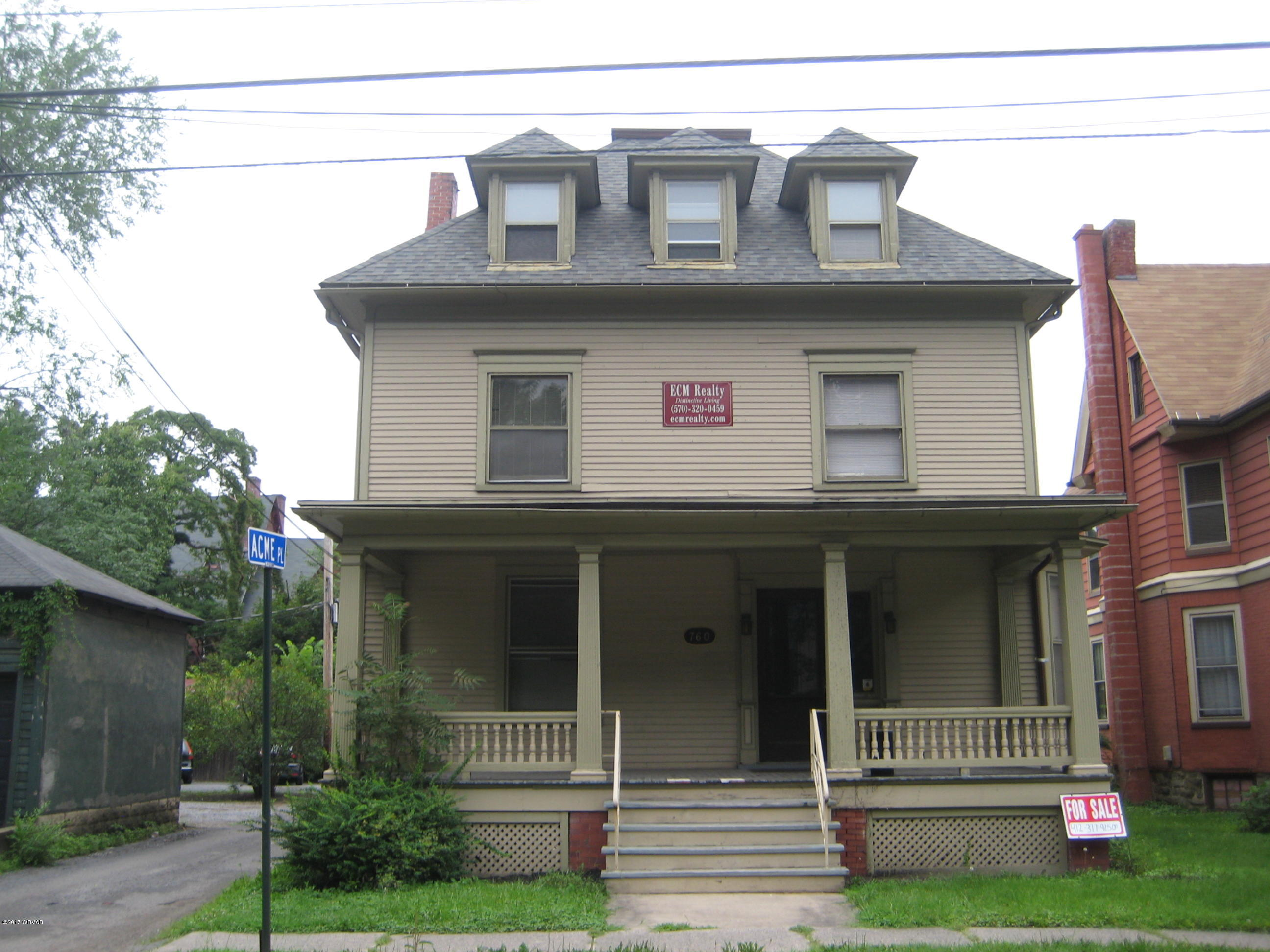 Williamsport,PA 17701,9 Bedrooms Bedrooms,3 BathroomsBathrooms,Residential,WB-81667