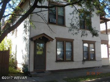 507-509 EDWIN STREET,Williamsport,PA 17701,Multi-units,EDWIN,WB-82796