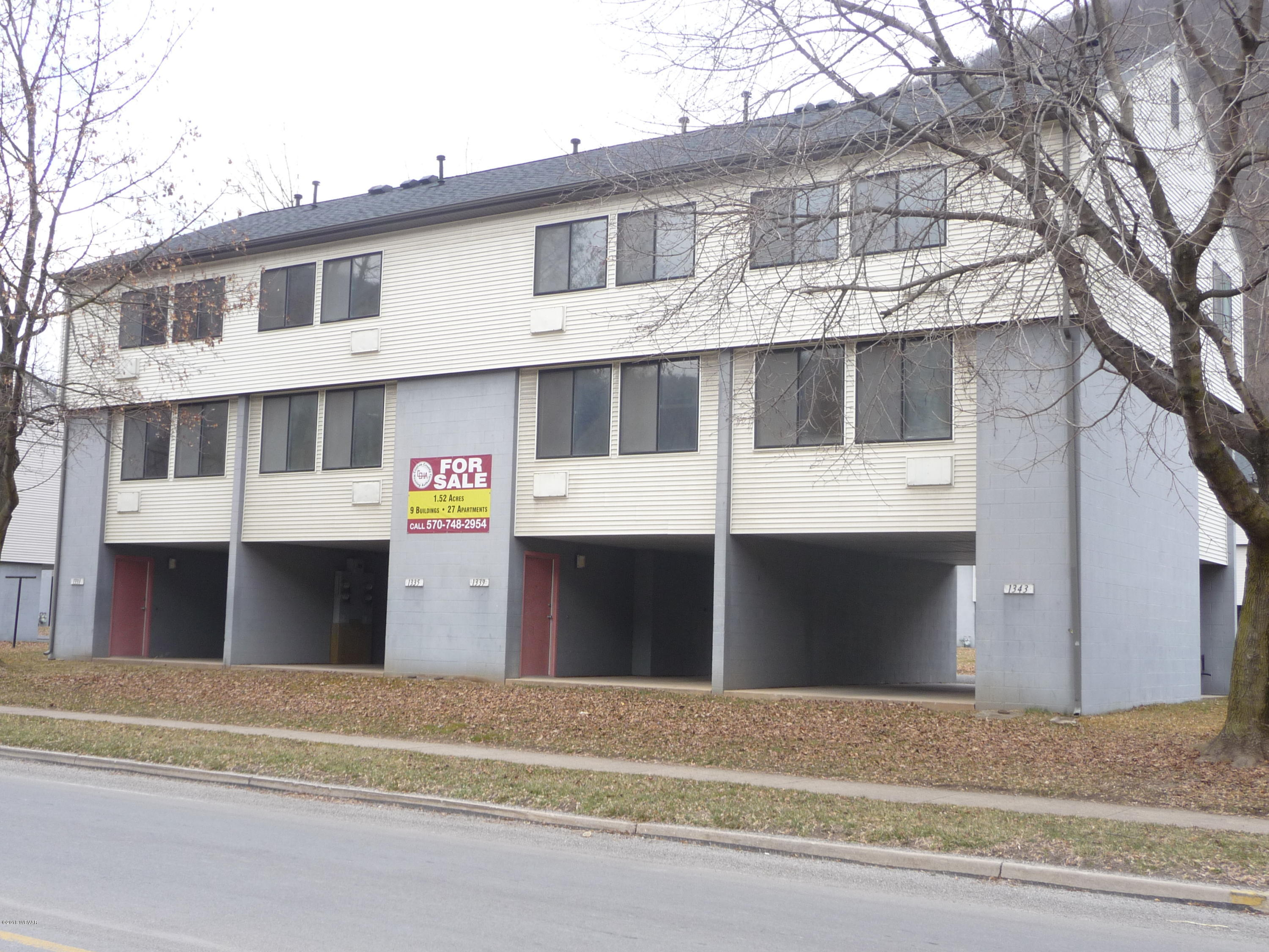 1309 HURON AVENUE, Renovo, PA 17764, ,Multi-units,For sale,HURON,WB-83552