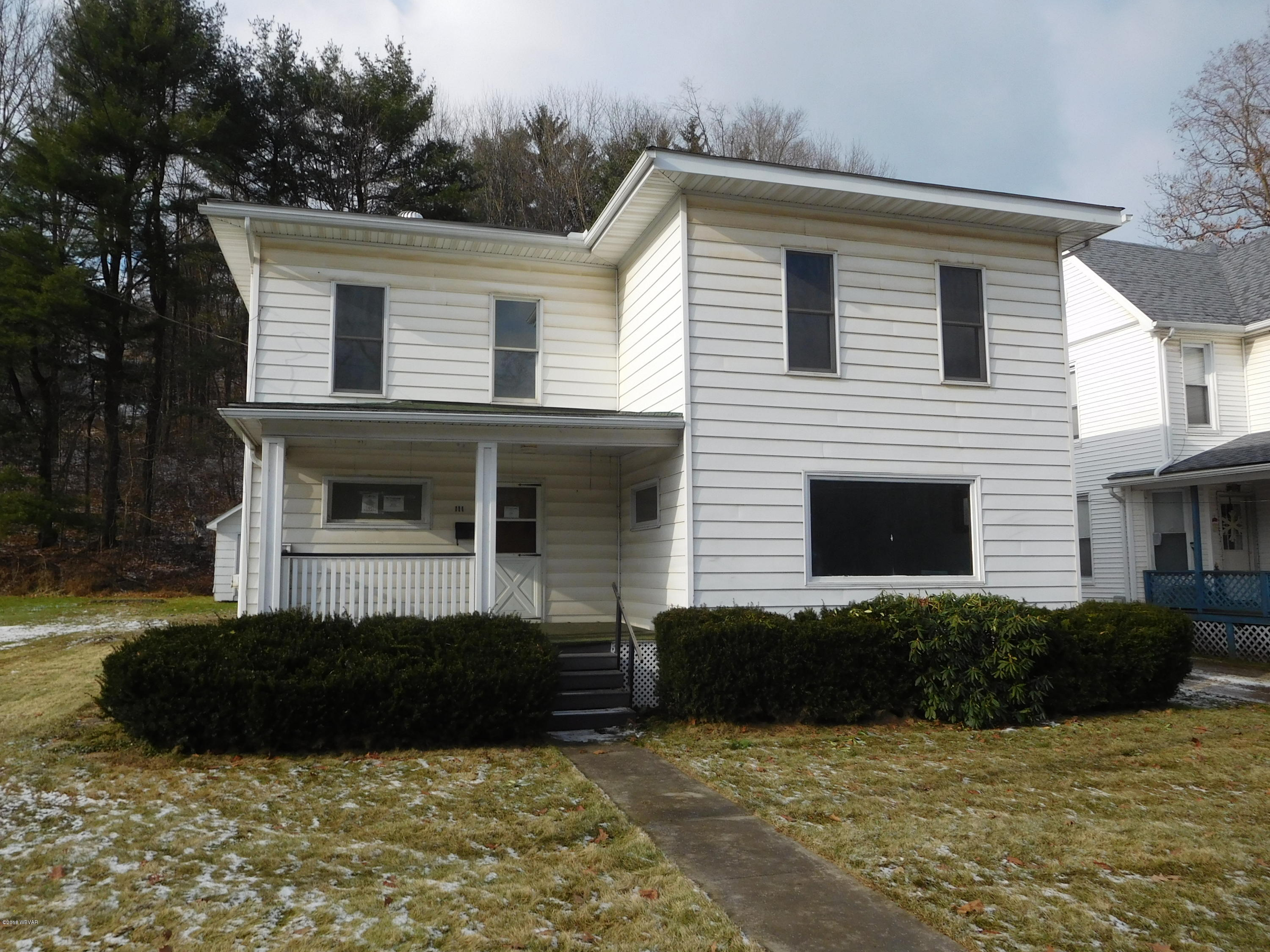 111 WILLIAMSON ROAD,Blossburg,PA 16912,4 Bedrooms Bedrooms,1 BathroomBathrooms,Residential,WILLIAMSON,WB-86045