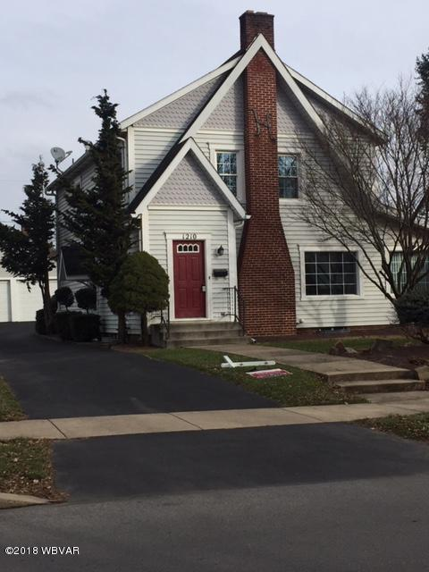 1210 FAXON PARKWAY,Williamsport,PA 17701,3 Bedrooms Bedrooms,3 BathroomsBathrooms,Residential,FAXON,WB-86056