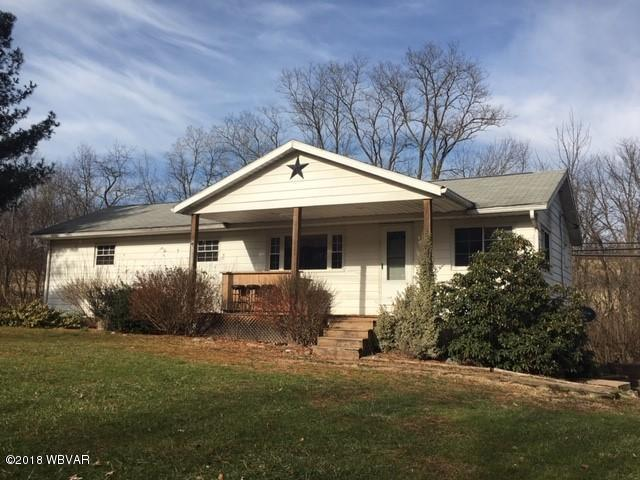6439 E PA-973 HIGHWAY,Cogan Station,PA 17728,3 Bedrooms Bedrooms,1 BathroomBathrooms,Residential,E PA-973,WB-86100