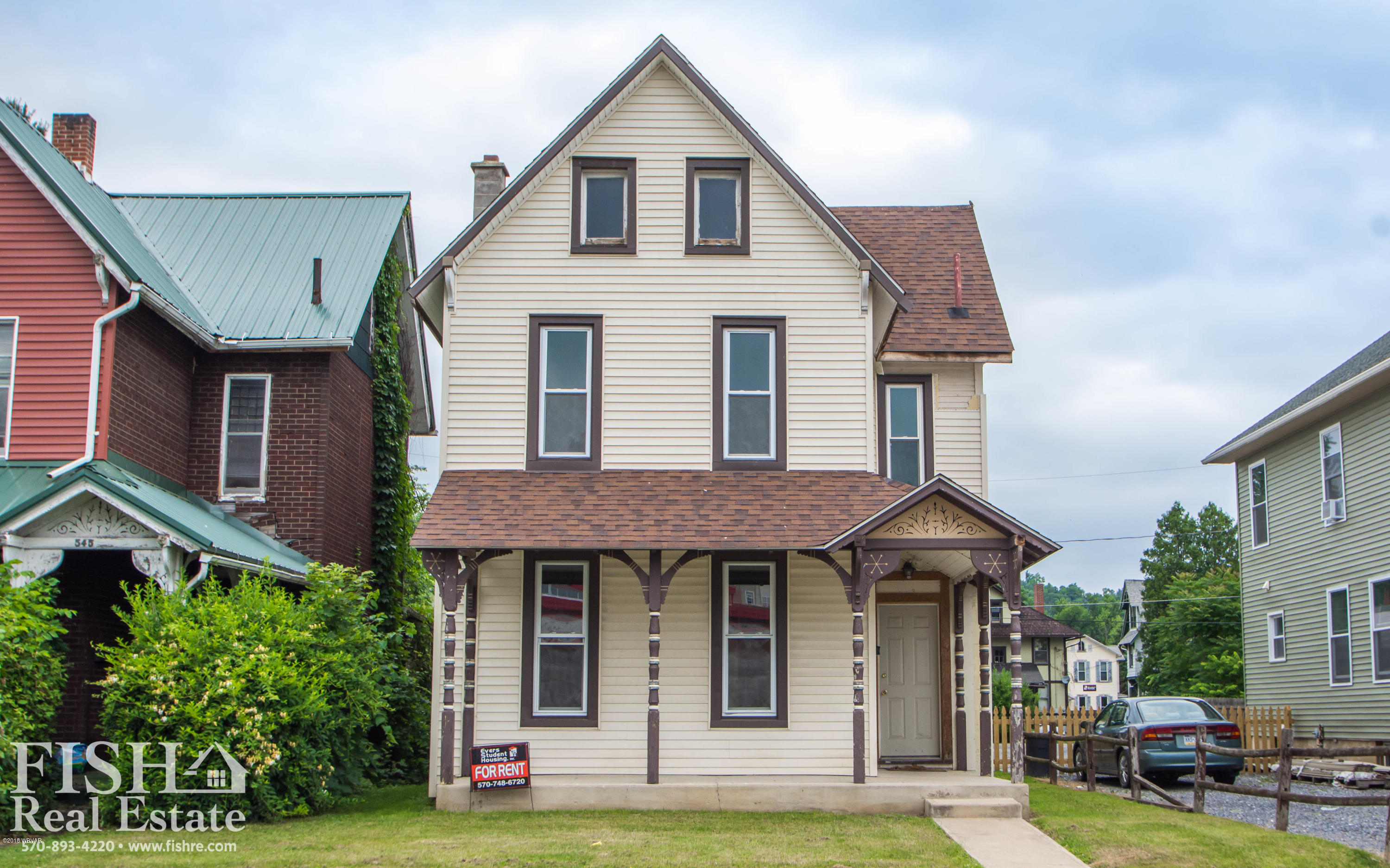 543 CHURCH STREET,Lock Haven,PA 17745,5 Bedrooms Bedrooms,1.75 BathroomsBathrooms,Residential,CHURCH,WB-86163