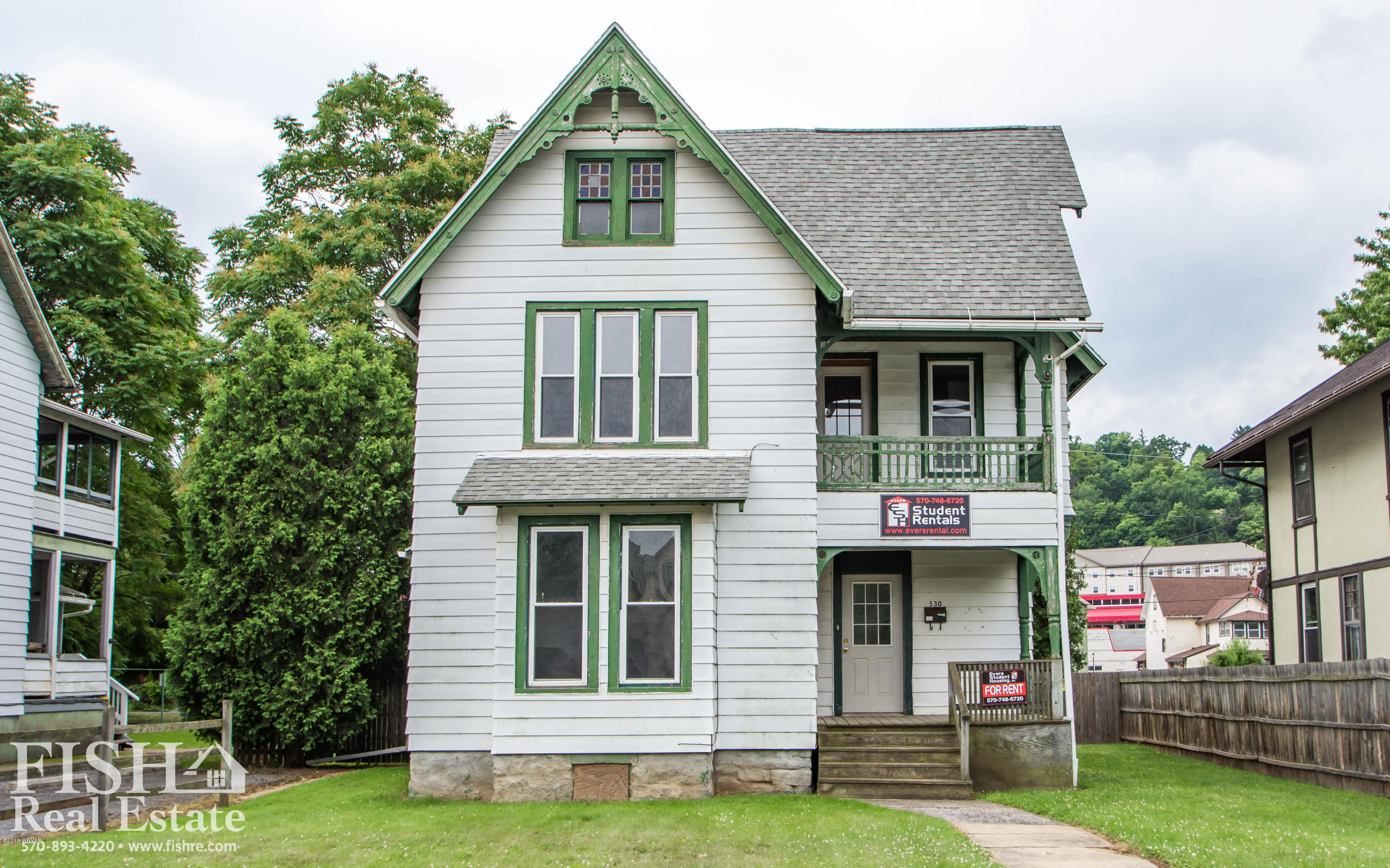 530 MAIN STREET,Lock Haven,PA 17745,6 Bedrooms Bedrooms,2 BathroomsBathrooms,Residential,MAIN,WB-86158