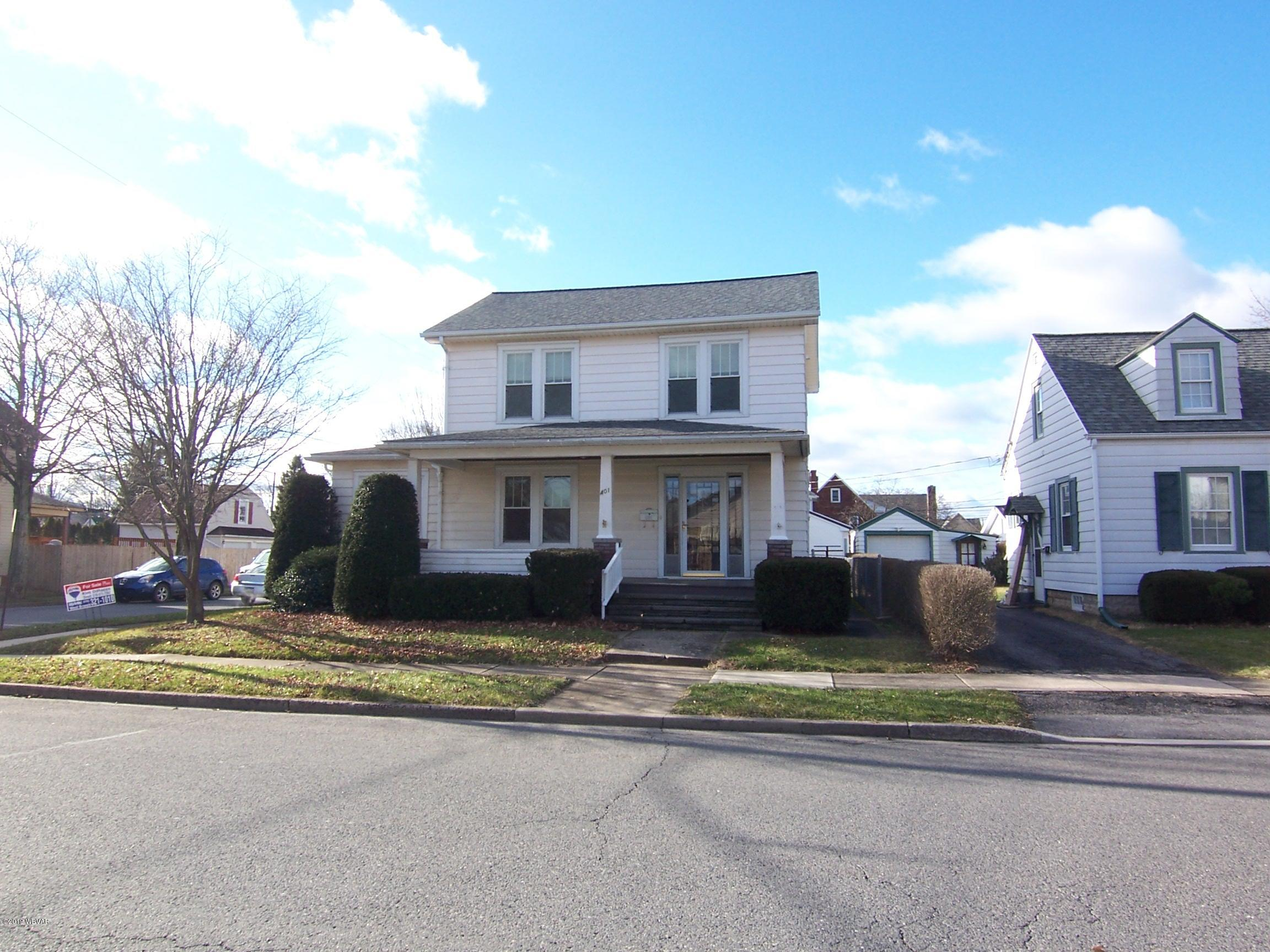 401 ARCH STREET,Montoursville,PA 17754,3 Bedrooms Bedrooms,1.5 BathroomsBathrooms,Residential,ARCH,WB-86188