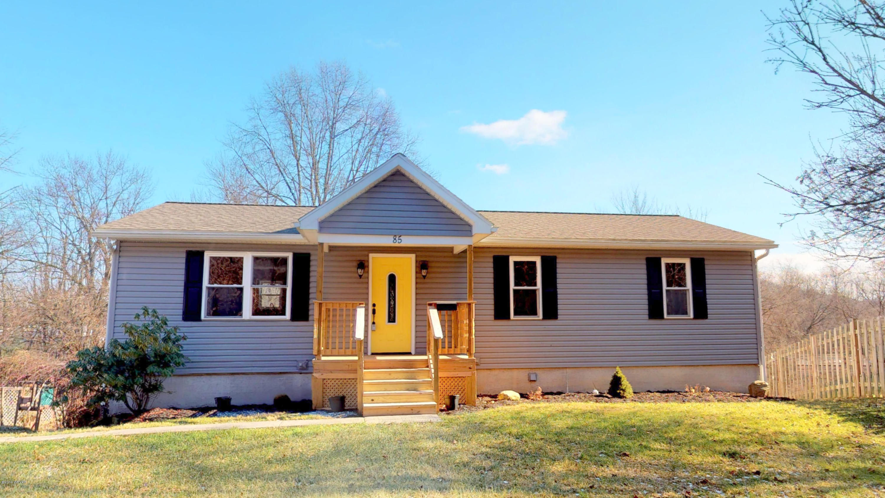 85 JOHNSON STREET,Montgomery,PA 17752,3 Bedrooms Bedrooms,2 BathroomsBathrooms,Residential,JOHNSON,WB-86234