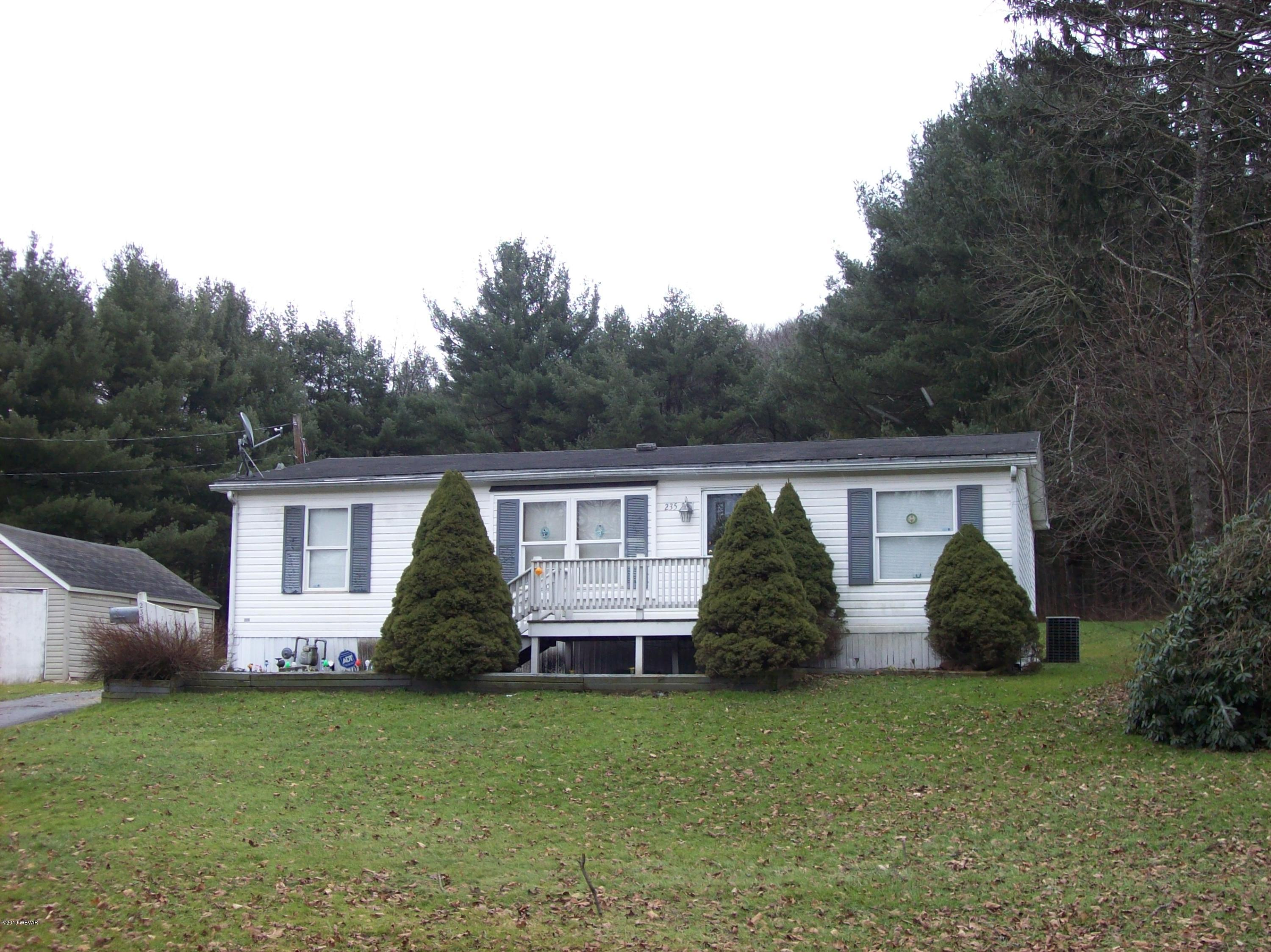 235 WILLIAMSON ROAD,Blossburg,PA 16912,3 Bedrooms Bedrooms,2 BathroomsBathrooms,Residential,WILLIAMSON,WB-86247