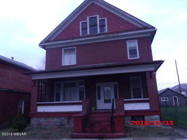 156 11TH STREET,Renovo,PA 17764,5 Bedrooms Bedrooms,1.5 BathroomsBathrooms,Residential,11TH,WB-86338