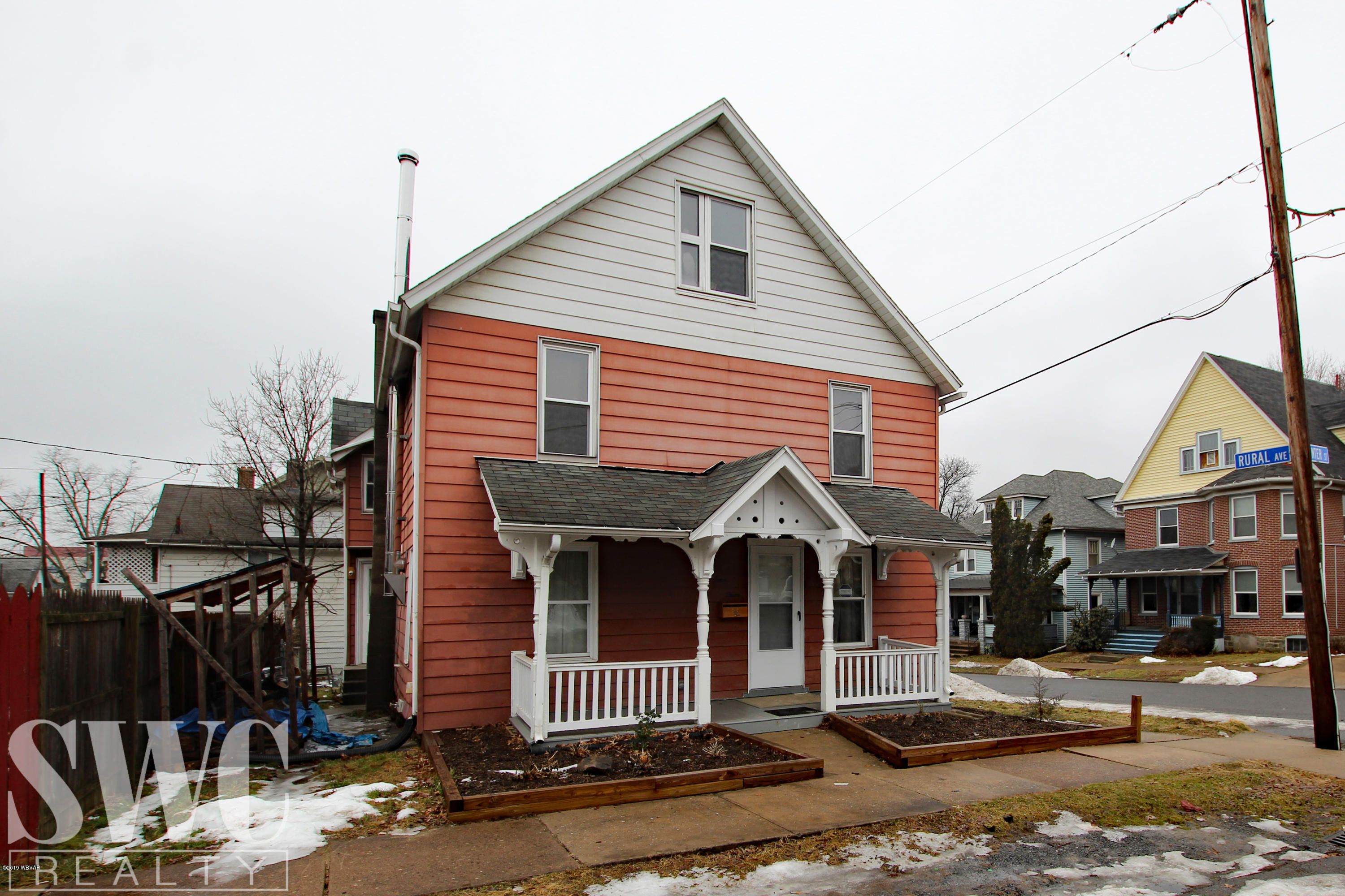 843 CENTER STREET,Williamsport,PA 17701,3 Bedrooms Bedrooms,2 BathroomsBathrooms,Residential,CENTER,WB-86400