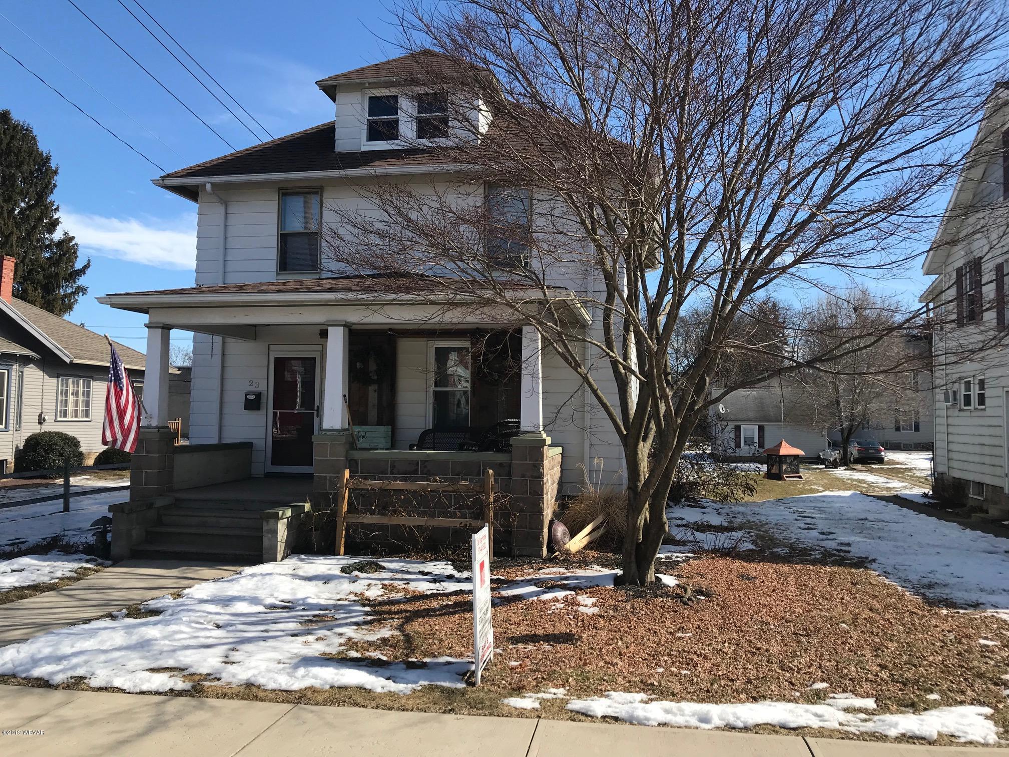 23 WASHINGTON STREET,Muncy,PA 17756,3 Bedrooms Bedrooms,1.5 BathroomsBathrooms,Residential,WASHINGTON,WB-86443