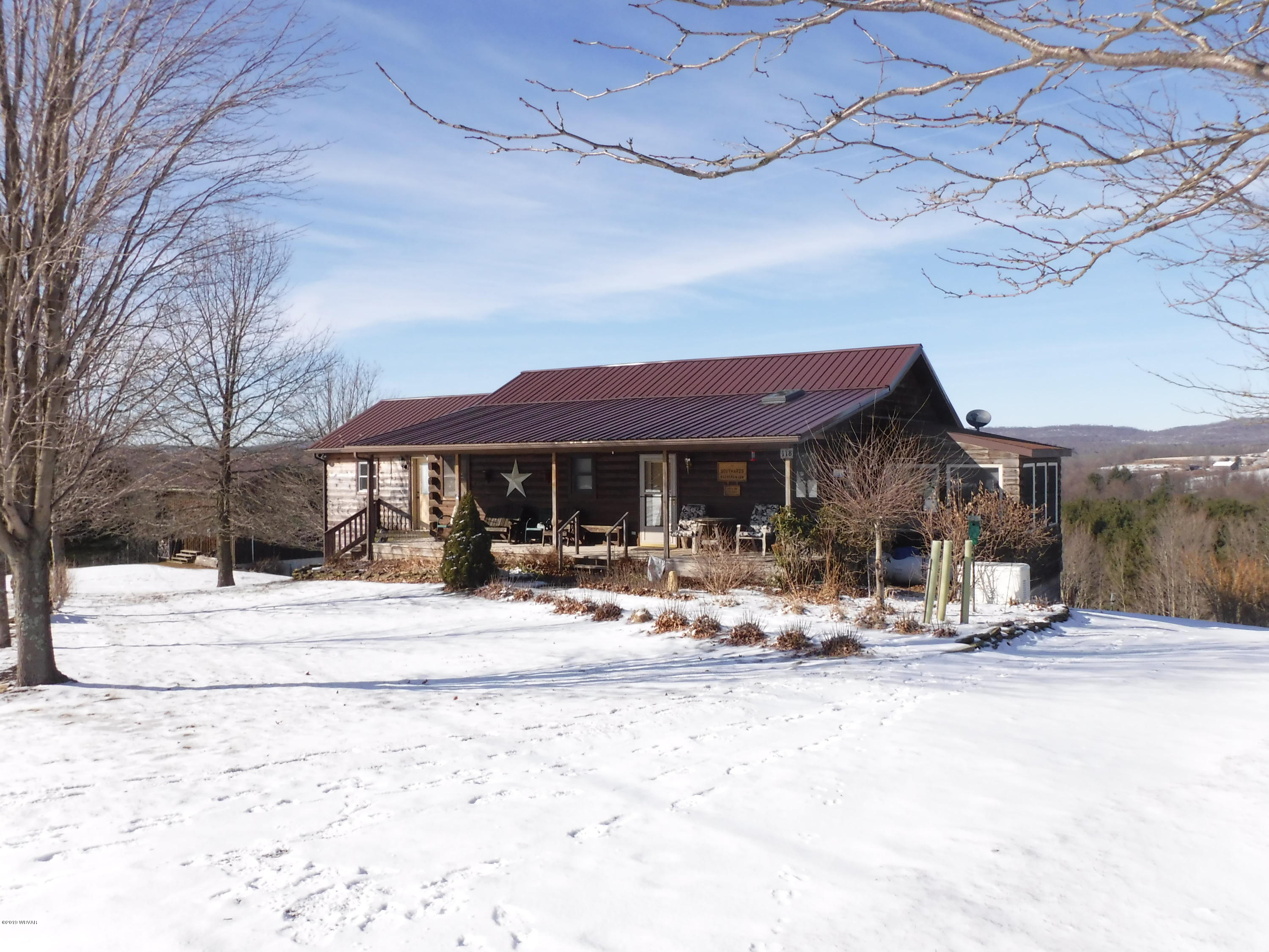 118 VALLEY VIEW LANE,Forksville,PA 18616,3 Bedrooms Bedrooms,2 BathroomsBathrooms,Residential,VALLEY VIEW,WB-86468