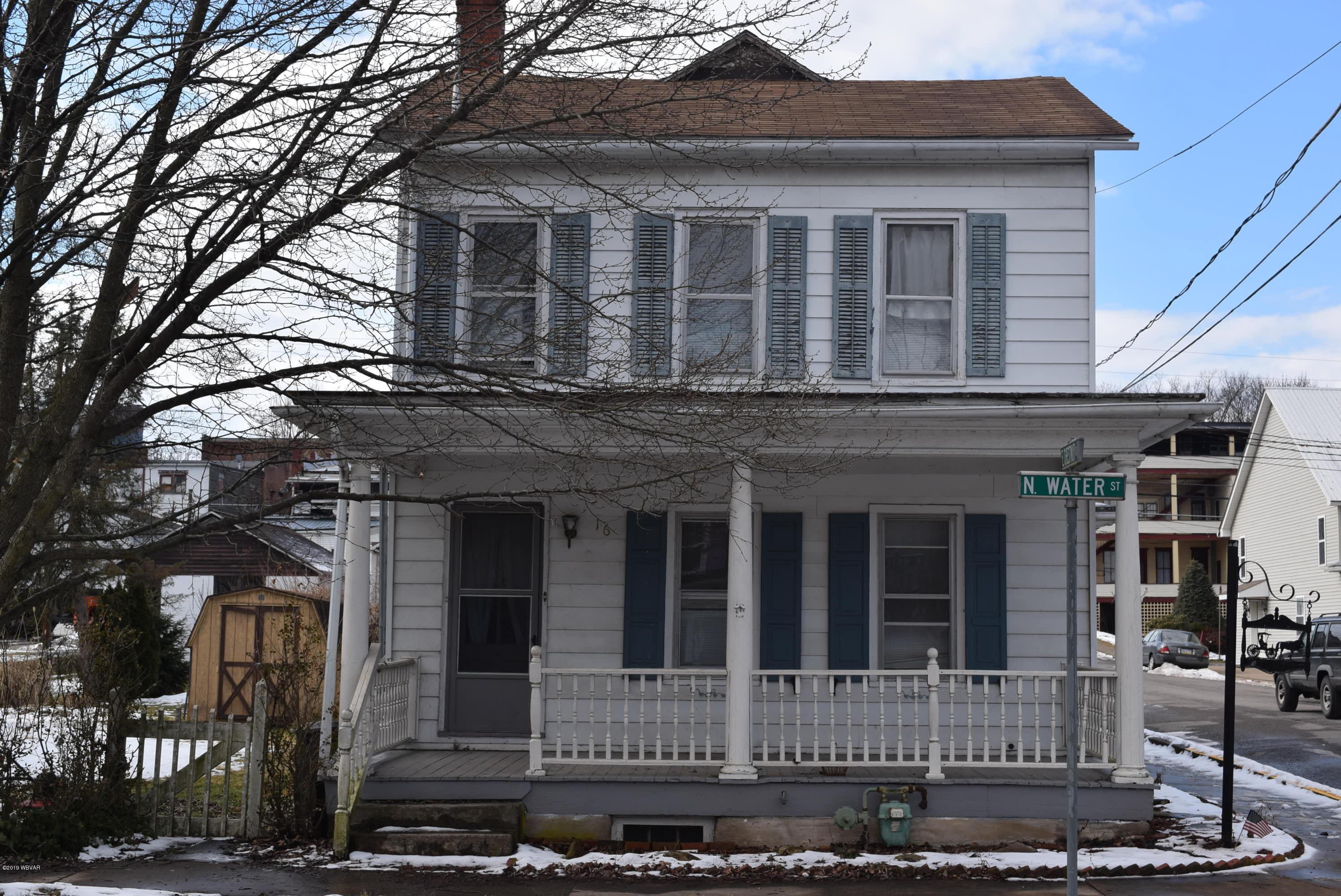 16 WATER STREET,Selinsgrove,PA 17870,4 Bedrooms Bedrooms,2 BathroomsBathrooms,Residential,WATER,WB-86460