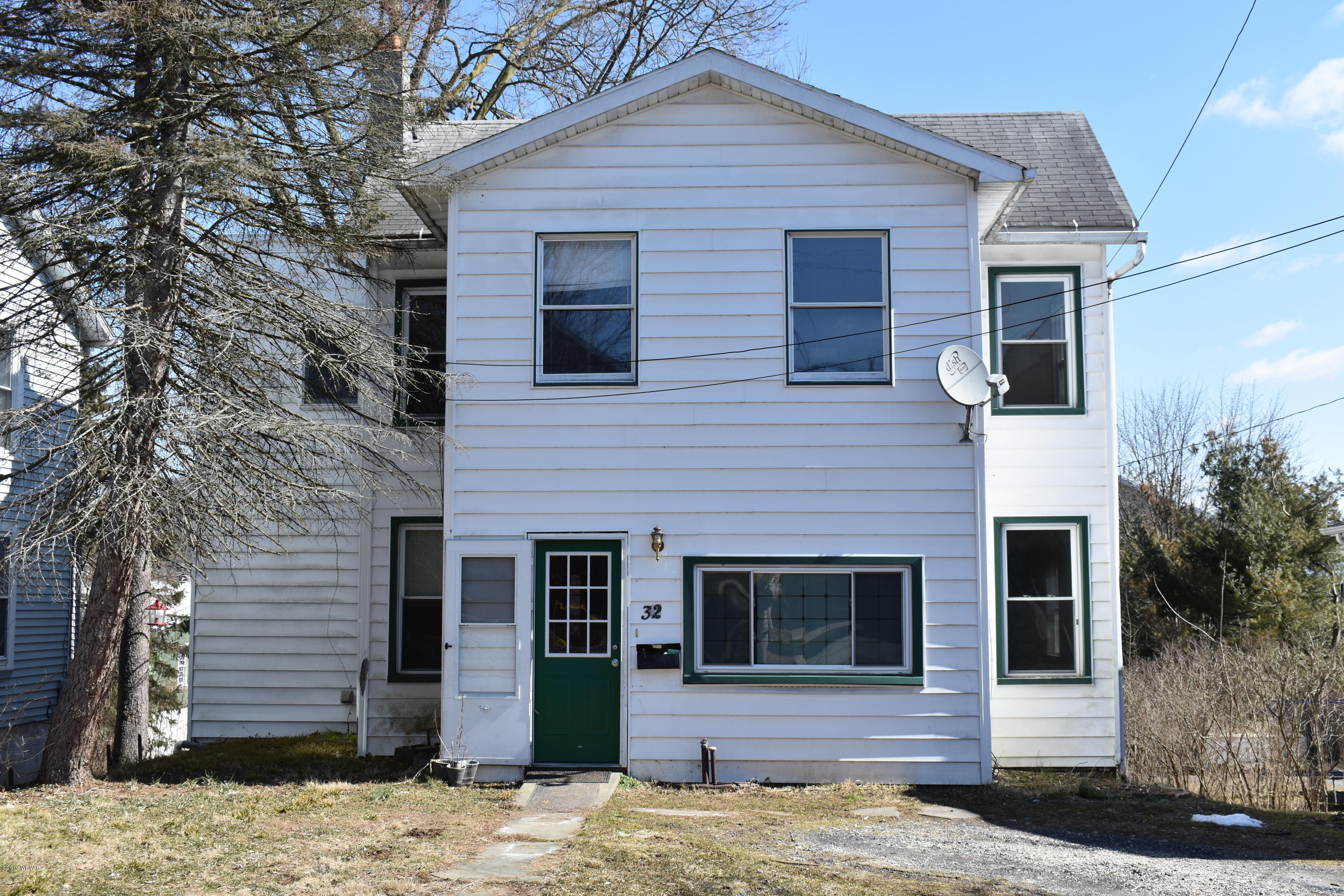 32 JONES STREET,Lock Haven,PA 17745,3 Bedrooms Bedrooms,2 BathroomsBathrooms,Residential,JONES,WB-86624