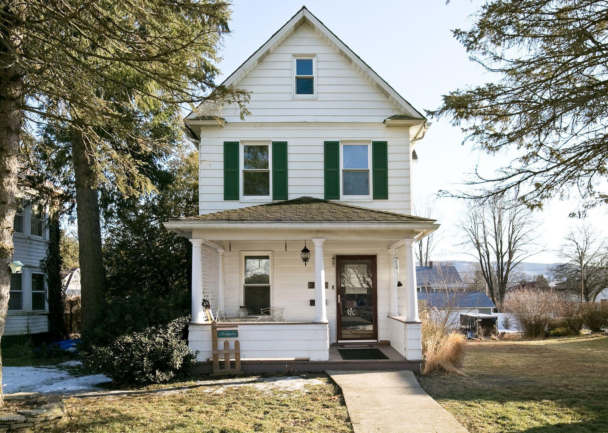 304 WOODLAND AVENUE,Williamsport,PA 17701,3 Bedrooms Bedrooms,2 BathroomsBathrooms,Residential,WOODLAND,WB-86631