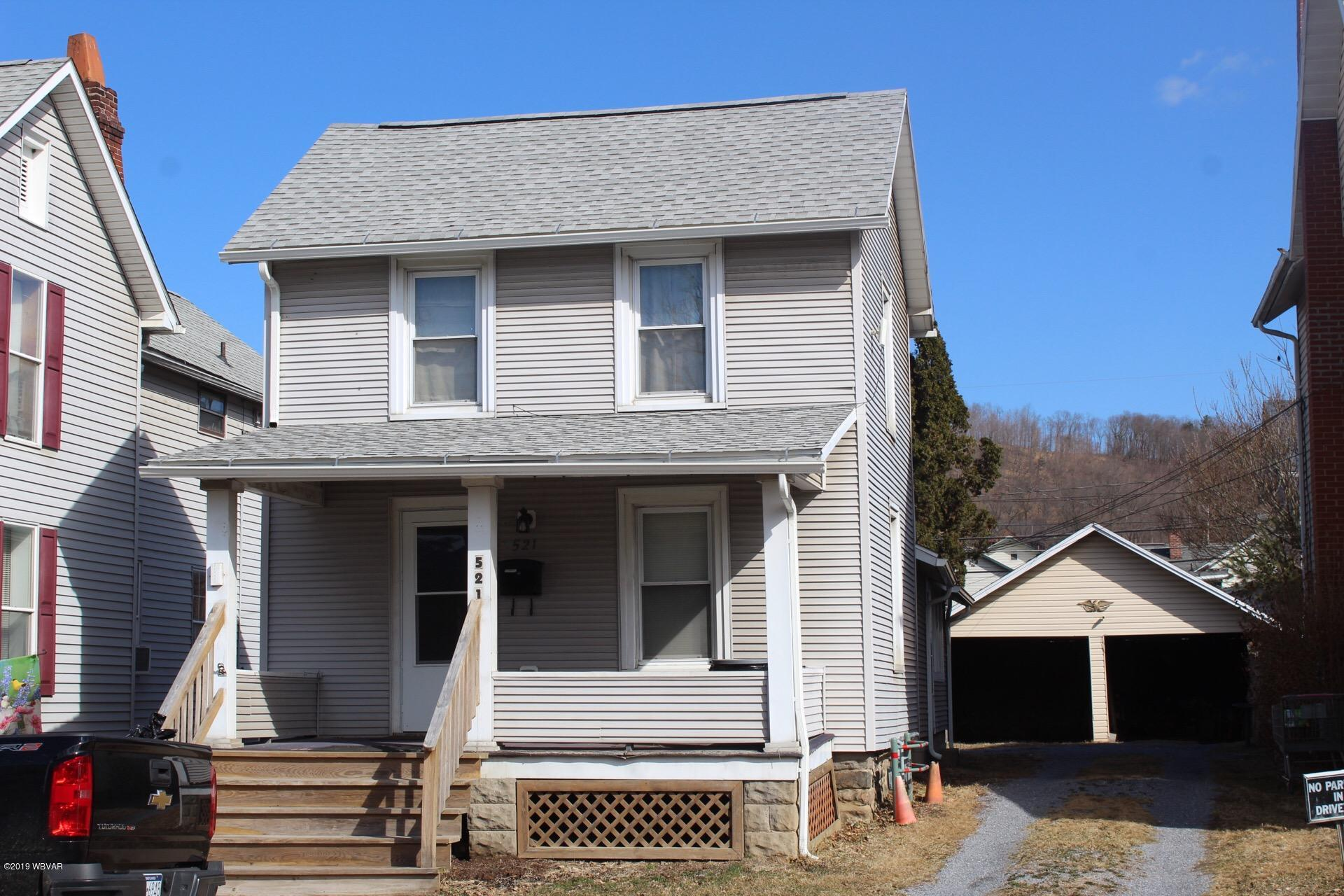 521 MAIN STREET,Lock Haven,PA 17745,2 Bedrooms Bedrooms,1 BathroomBathrooms,Residential,MAIN,WB-86674