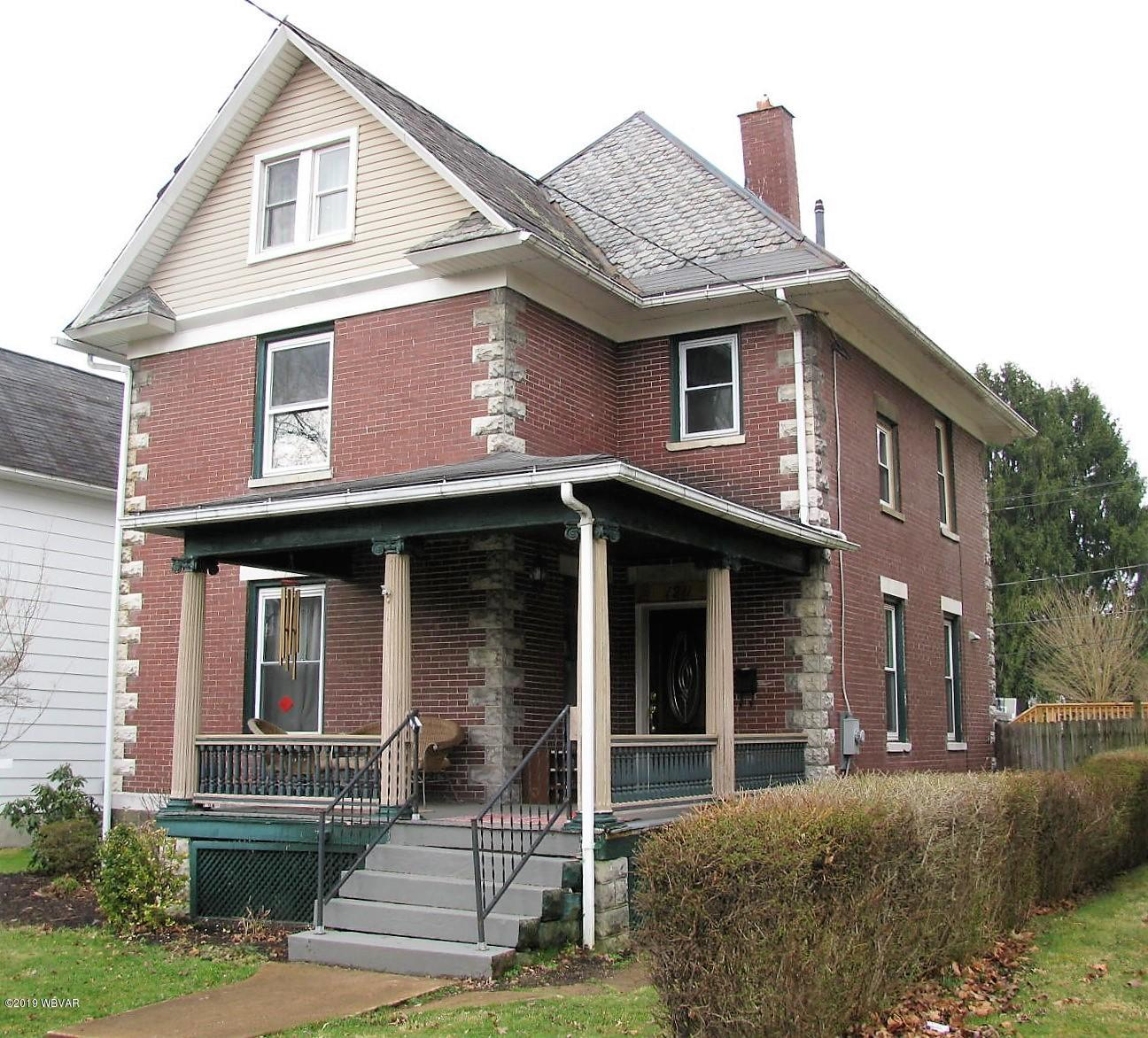 1211 CHERRY STREET,Williamsport,PA 17701,4 Bedrooms Bedrooms,2.5 BathroomsBathrooms,Residential,CHERRY,WB-86917