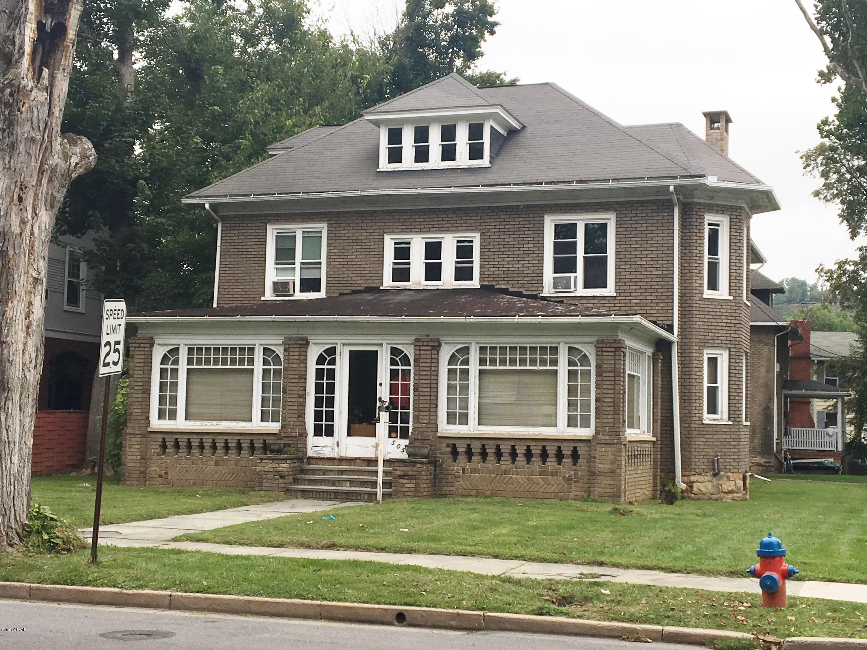 505 MAIN STREET, Lock Haven, PA 17745, 5 Bedrooms Bedrooms, ,2 BathroomsBathrooms,Residential,For sale,MAIN,WB-87158