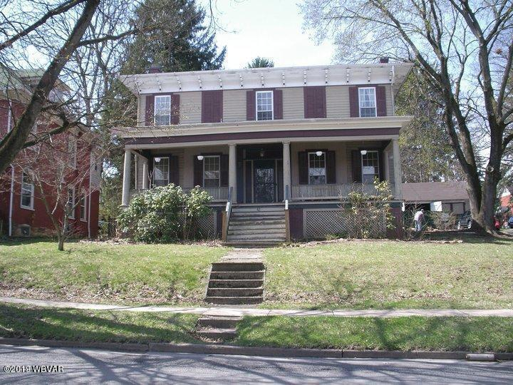 41 FAIRVIEW STREET, Lock Haven, PA 17745, ,Multi-units,For sale,FAIRVIEW,WB-87157