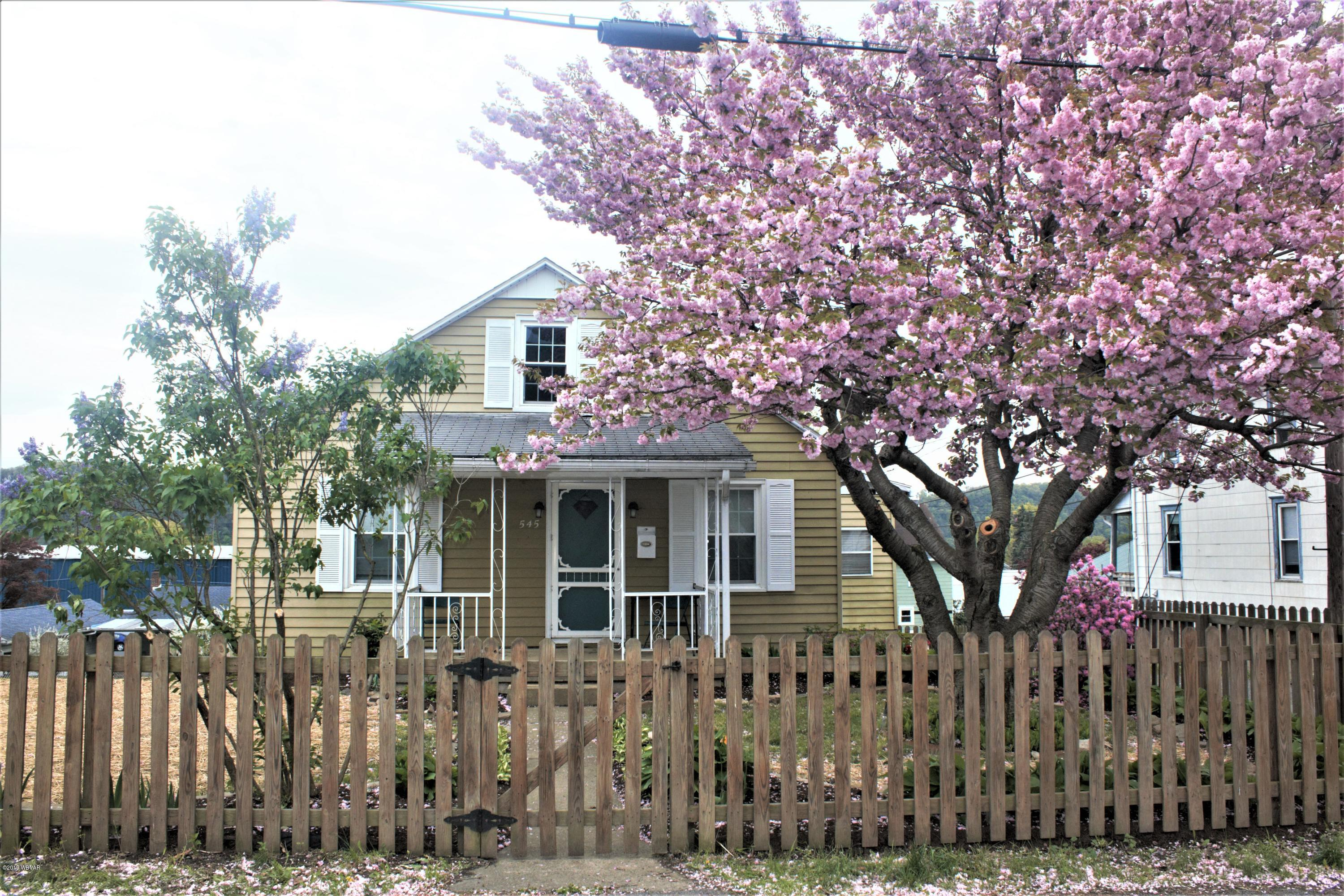 545 WALLACE STREET,Northumberland,PA 17857,3 Bedrooms Bedrooms,1.5 BathroomsBathrooms,Residential,WALLACE,WB-87322