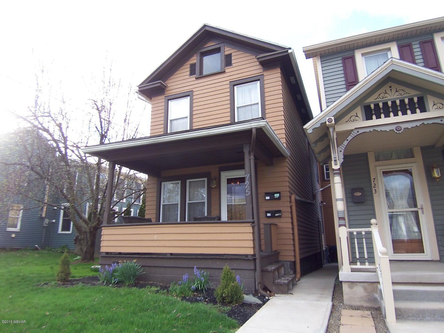 725 BELLEFONTE AVENUE,Lock Haven,PA 17745,Multi-units,BELLEFONTE,WB-87340