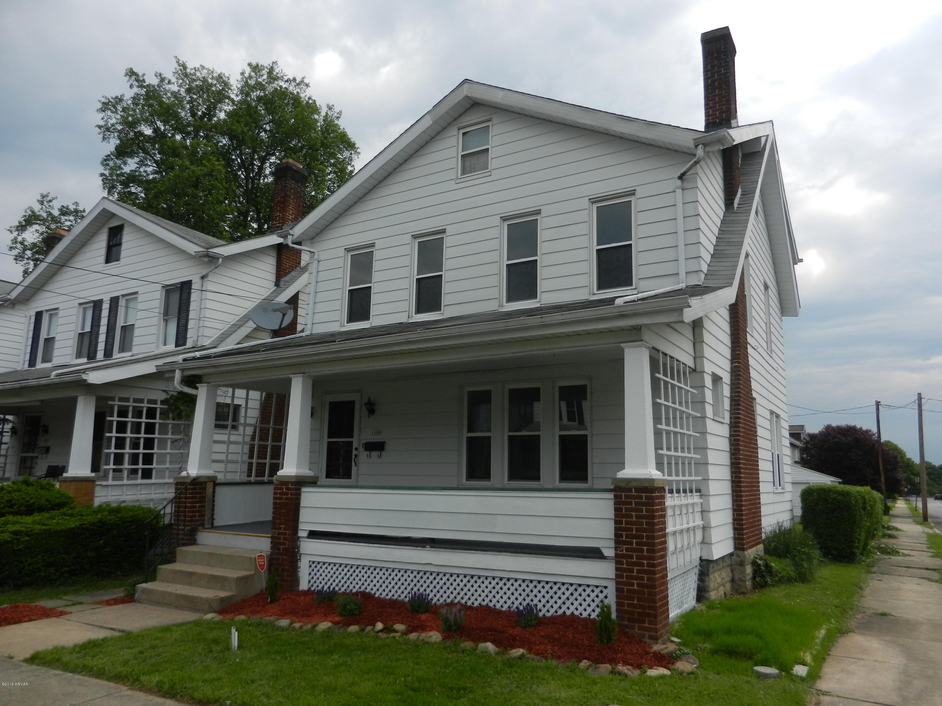 1100 FRANKLIN STREET,Williamsport,PA 17701,4 Bedrooms Bedrooms,1 BathroomBathrooms,Residential,FRANKLIN,WB-86291