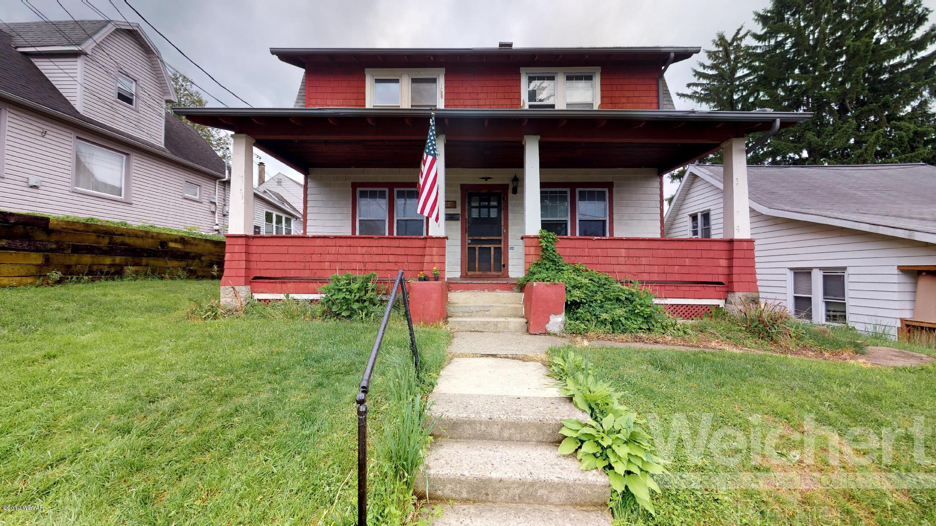 212 ELM STREET,S. Williamsport,PA 17702,3 Bedrooms Bedrooms,1 BathroomBathrooms,Residential,ELM,WB-87402