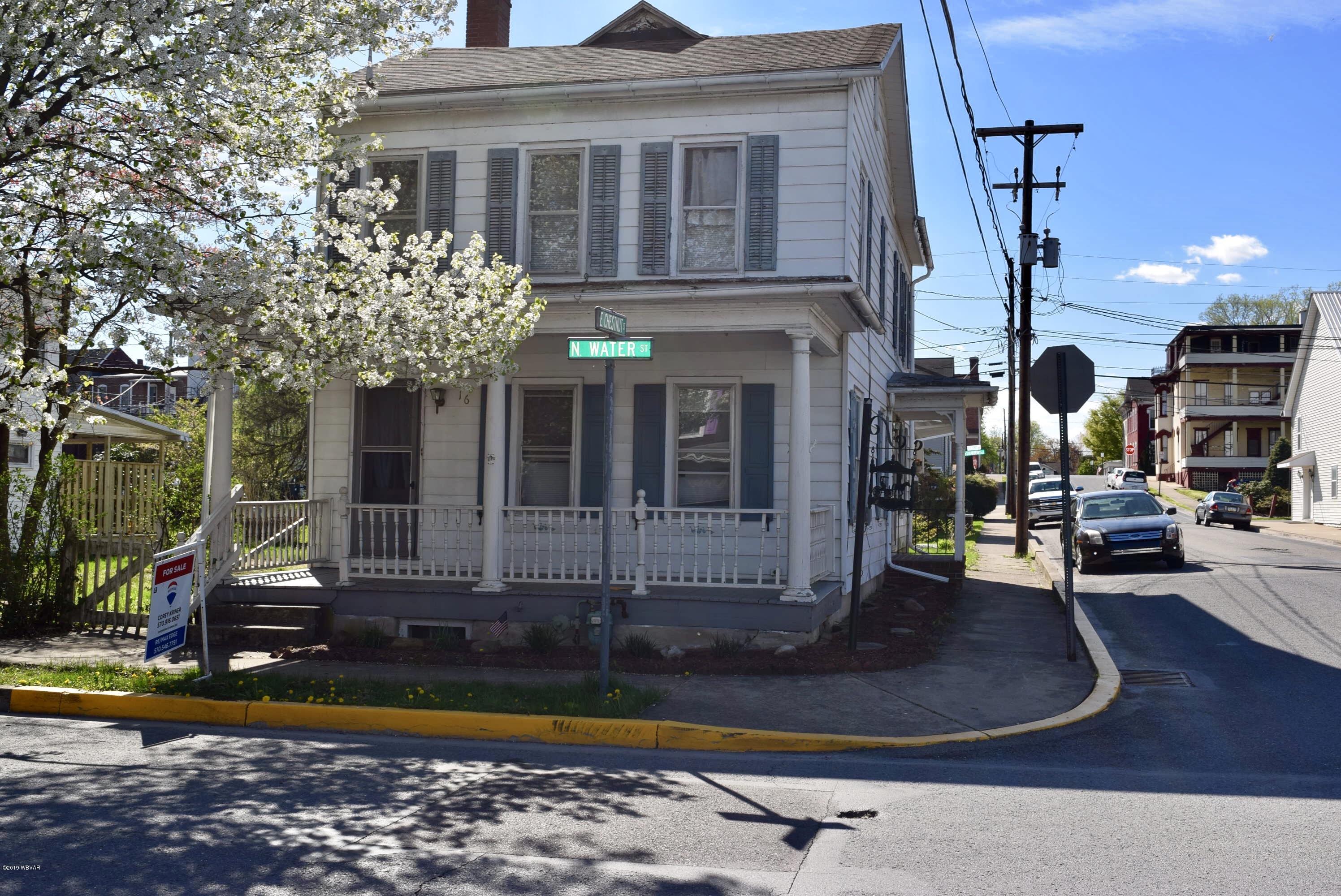 16 WATER STREET,Selinsgrove,PA 17870,4 Bedrooms Bedrooms,2 BathroomsBathrooms,Residential,WATER,WB-87573