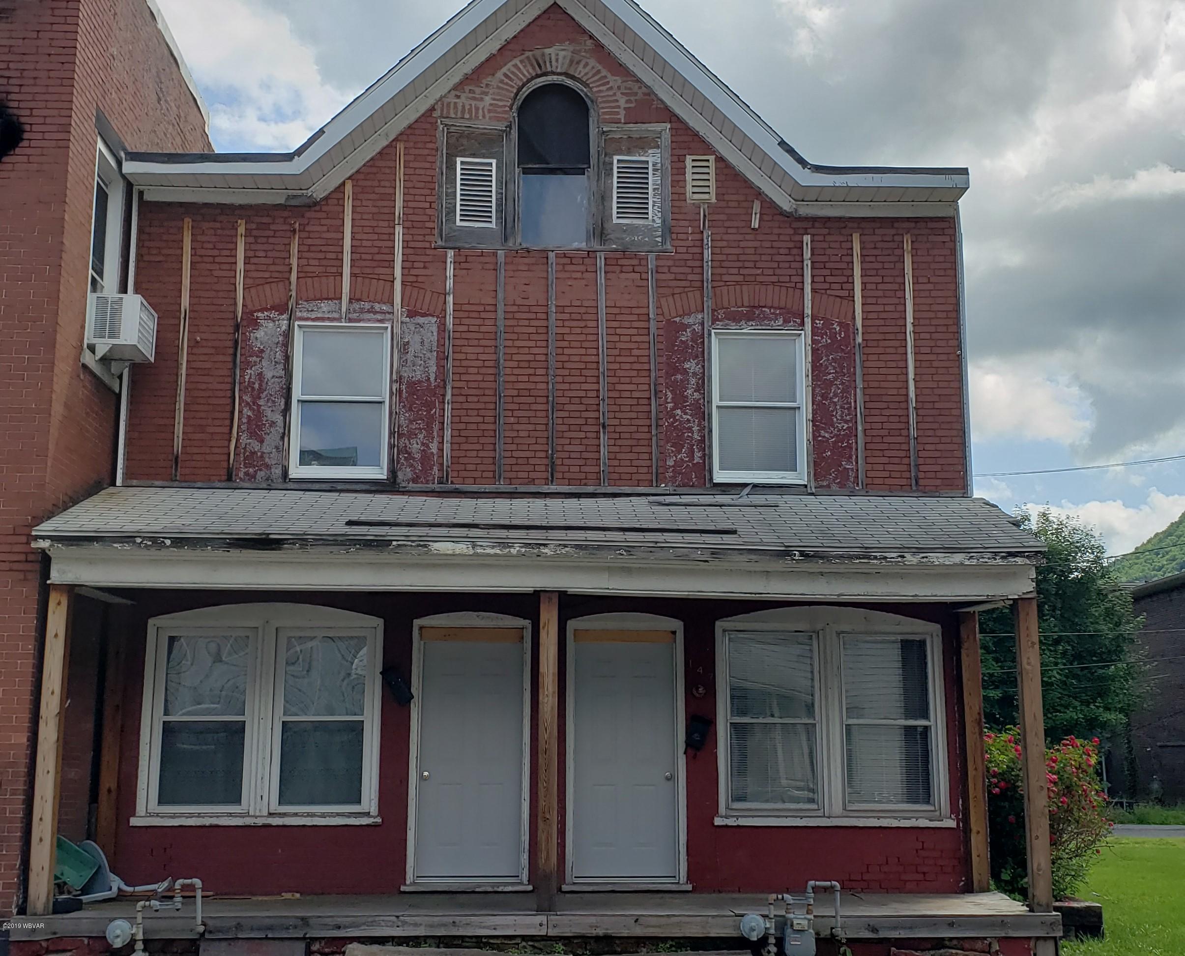 147 5TH STREET,Renovo,PA 17764,Multi-units,5TH,WB-87620