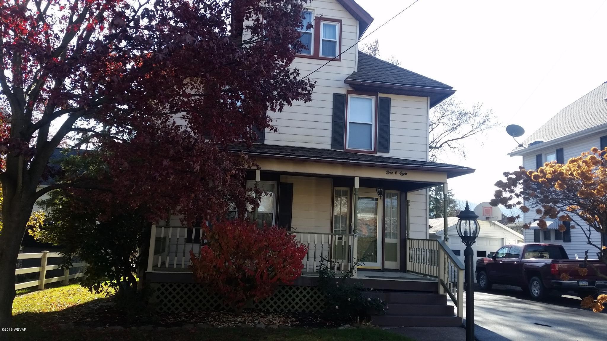 508 MAPLE STREET,Lock Haven,PA 17745,4 Bedrooms Bedrooms,2 BathroomsBathrooms,Resid-lease/rental,MAPLE,WB-87633