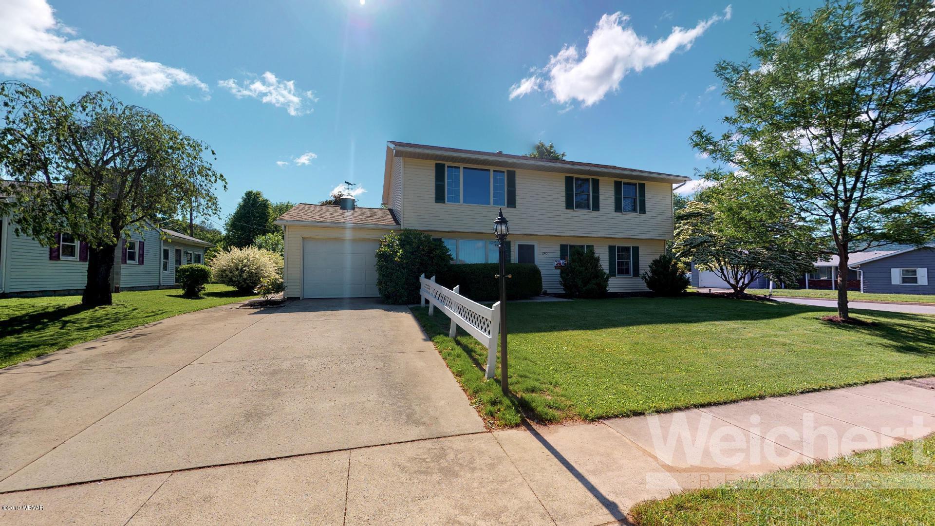 1000 ALLEN STREET,Montoursville,PA 17754,4 Bedrooms Bedrooms,2 BathroomsBathrooms,Residential,ALLEN,WB-87645