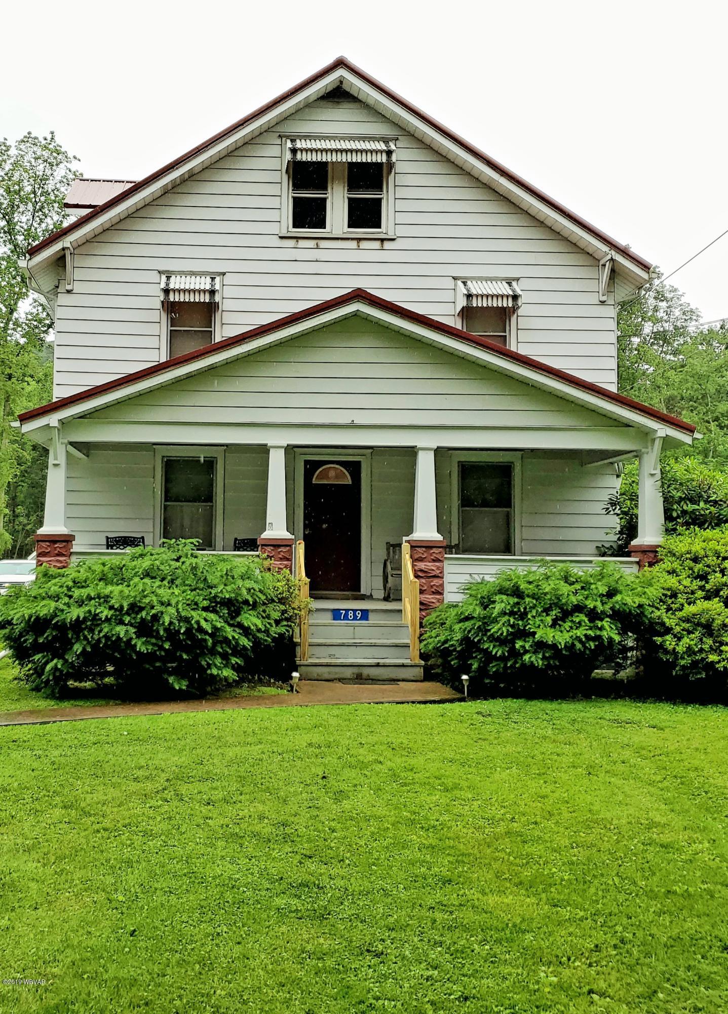 789 PARK AVENUE,Lock Haven,PA 17745,3 Bedrooms Bedrooms,1.25 BathroomsBathrooms,Residential,PARK,WB-87659