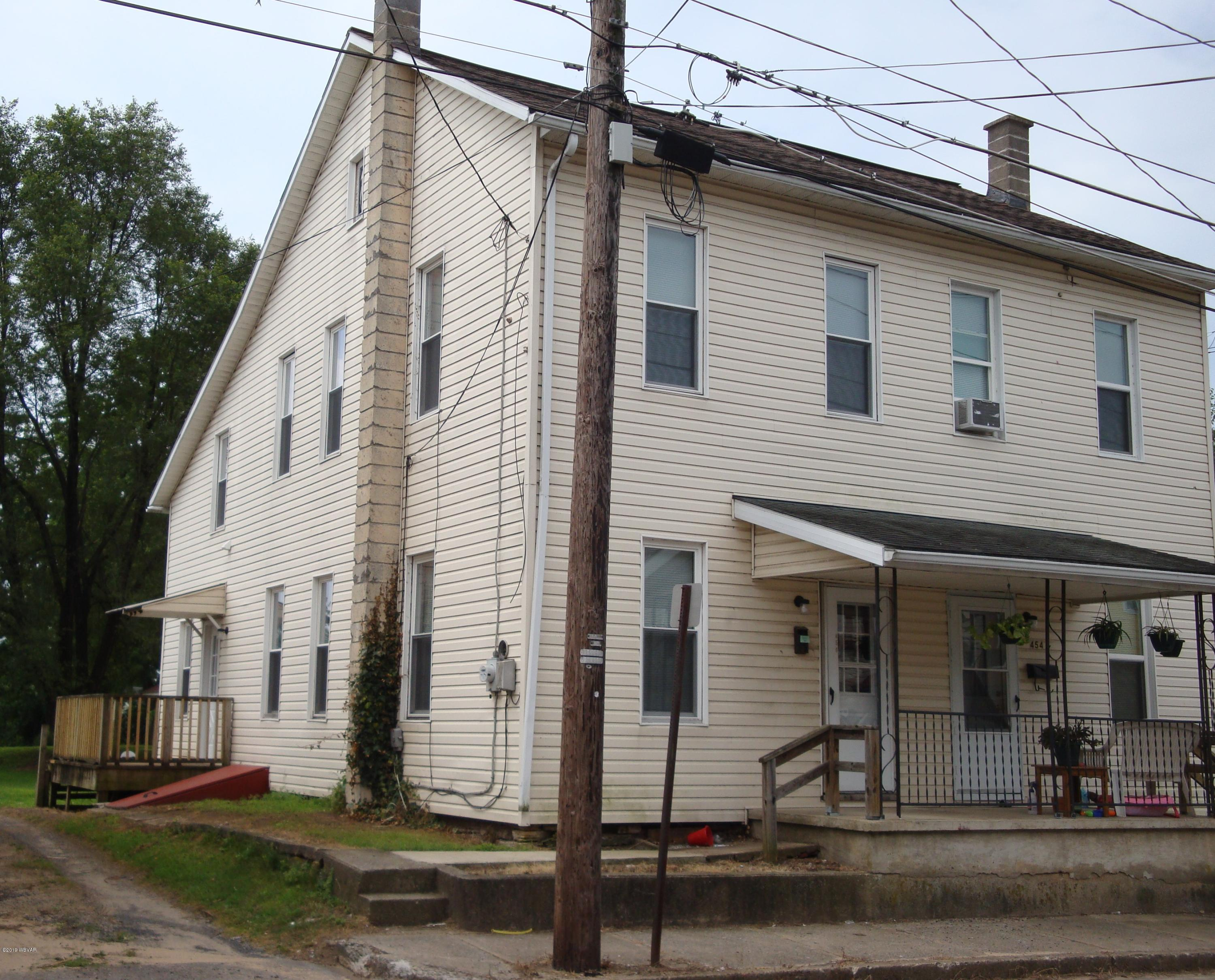 456 COLUMBIA AVENUE,Milton,PA 17847,2 Bedrooms Bedrooms,1 BathroomBathrooms,Resid-lease/rental,COLUMBIA,WB-87910