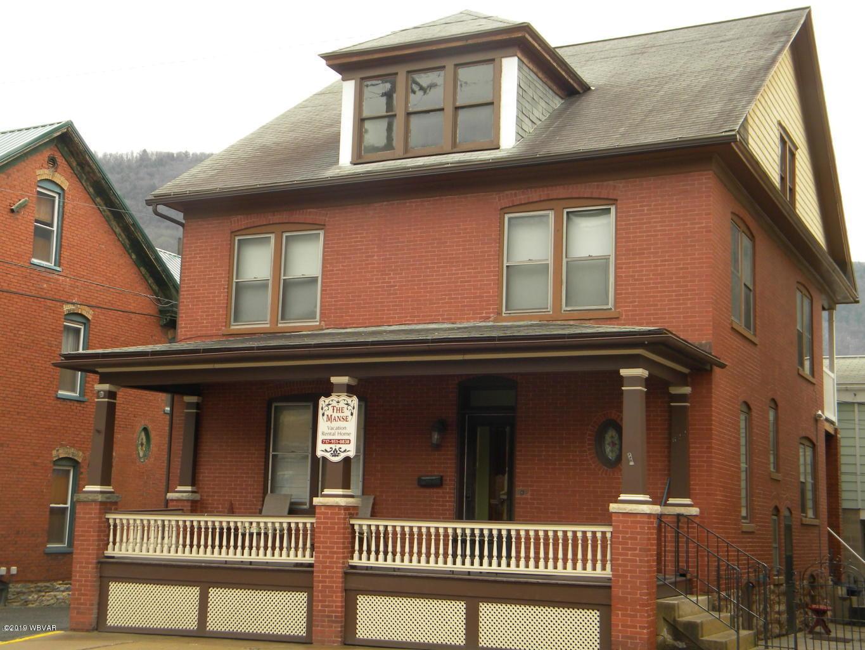 622 HURON AVENUE,Renovo,PA 17764,4 Bedrooms Bedrooms,2 BathroomsBathrooms,Resid-lease/rental,HURON,WB-87956