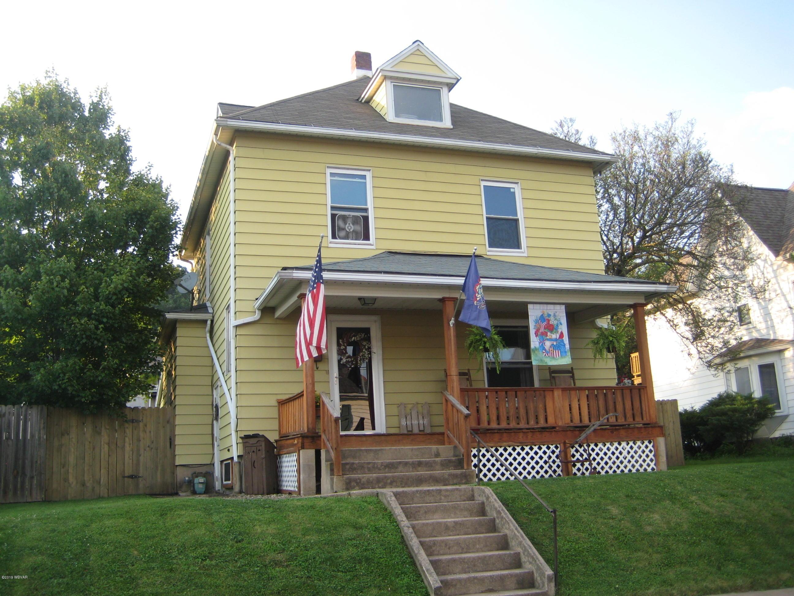 2336 NEWBERRY STREET,Williamsport,PA 17701,3 Bedrooms Bedrooms,1 BathroomBathrooms,Residential,NEWBERRY,WB-87954